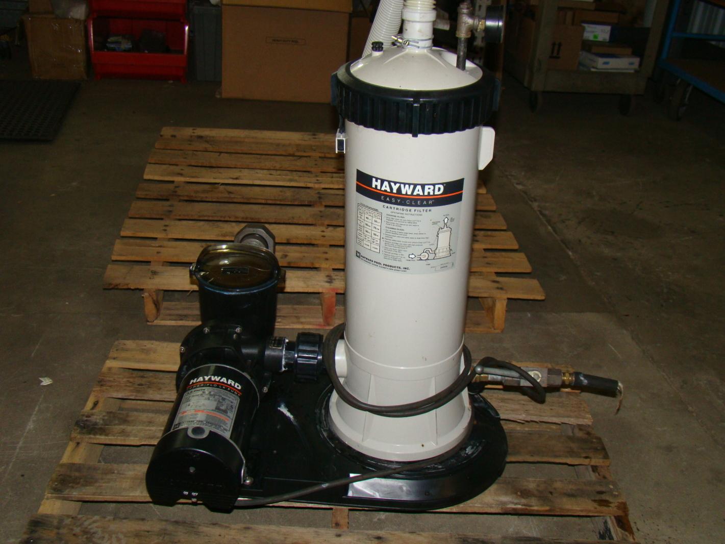Hayward Power Flo 1hp Pool Pump Sp1510 Z 1 Xesc And Filter