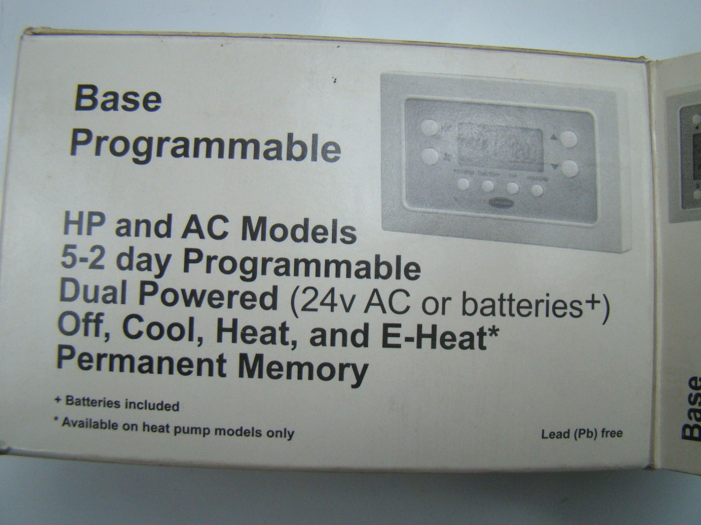 carrier programmable thermostat instructions