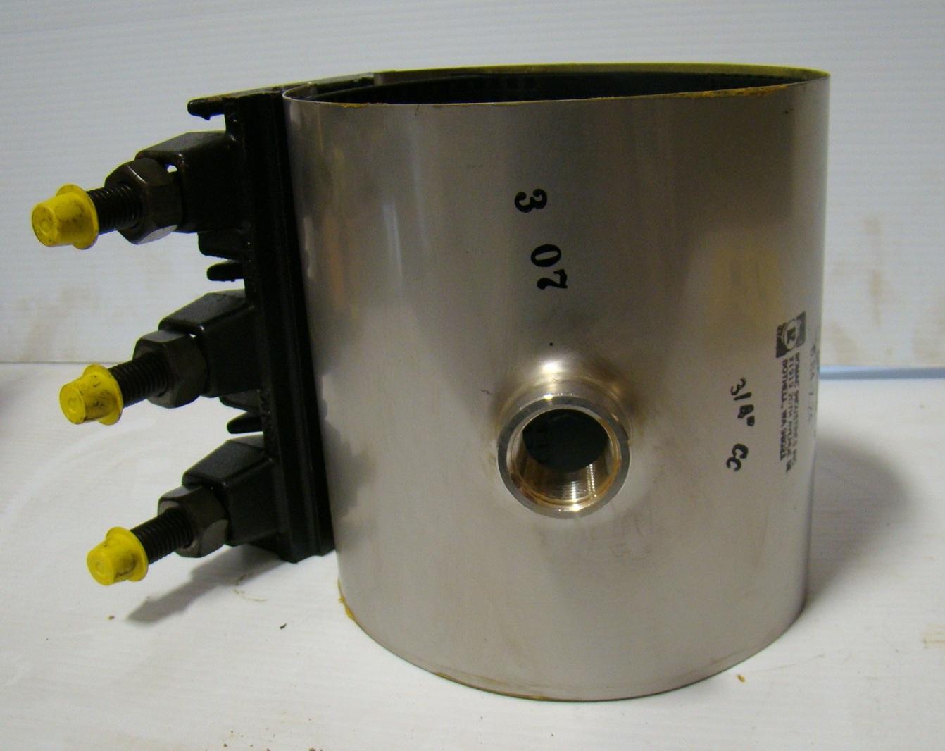 Romac cl cast lug pipe repair clamp
