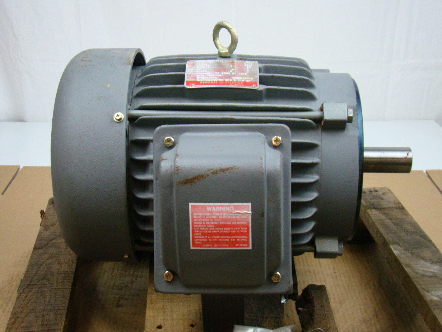 General Electric 7 5 Hp Electric Motor 230 460v