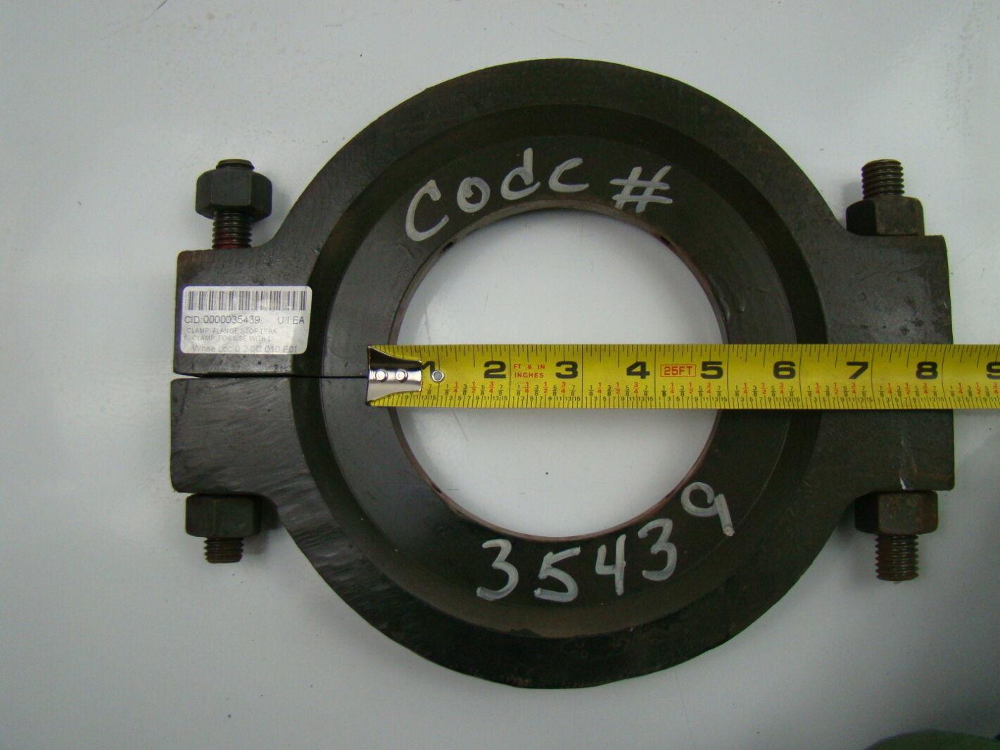 ... Pump Clamp Flange Stop Leak Repair 1210 | Joseph Fazzio, Incorporated