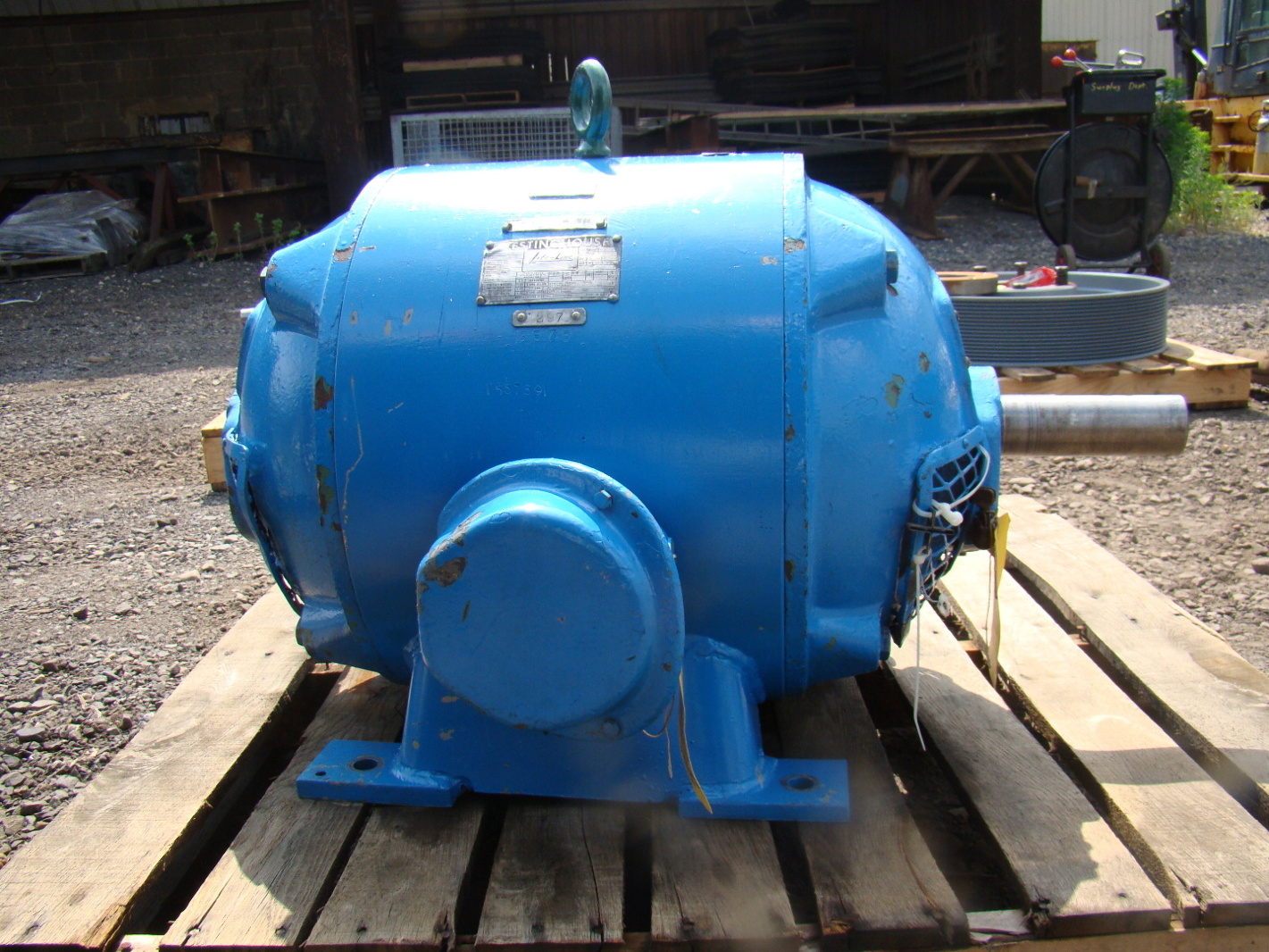 20 Hp Westinghouse Power House Electric Motor 440v Hp59715