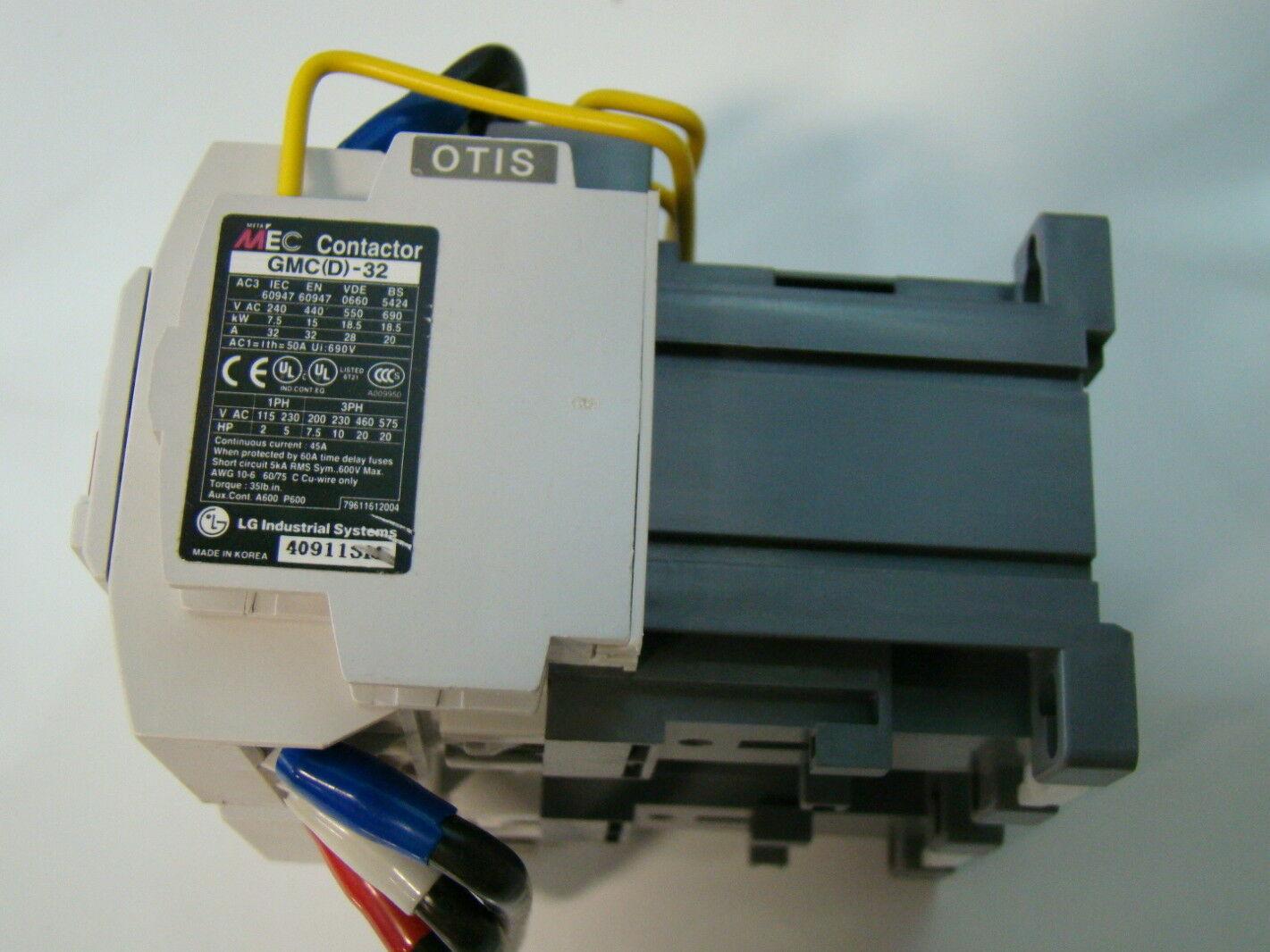 Meta Mec LG 48VDC Magnetic Contactor GMC(D) 32 eBay #6C6243