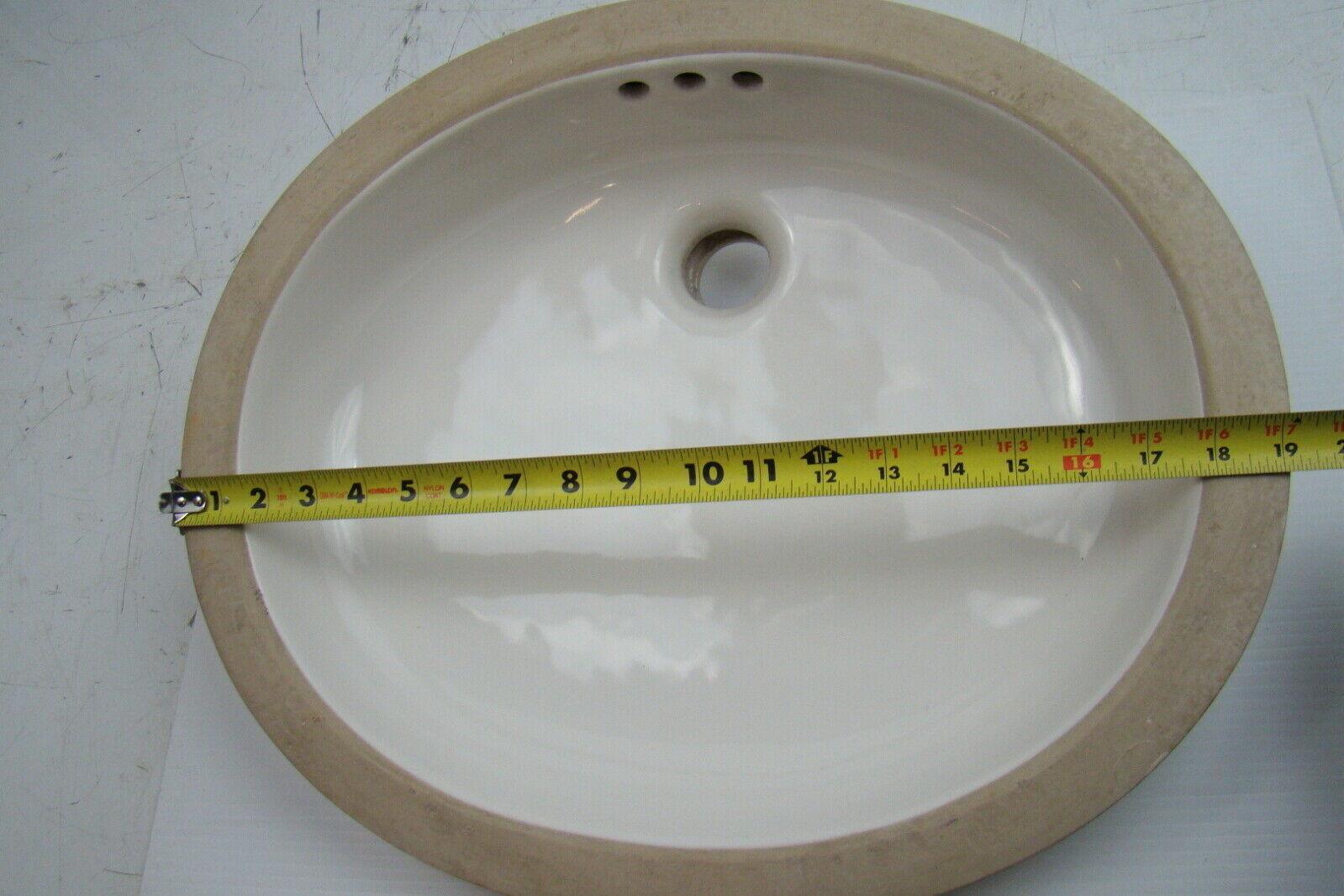 ... American Standard Ovalyn White Undercounter Sink 9482000.020 ...