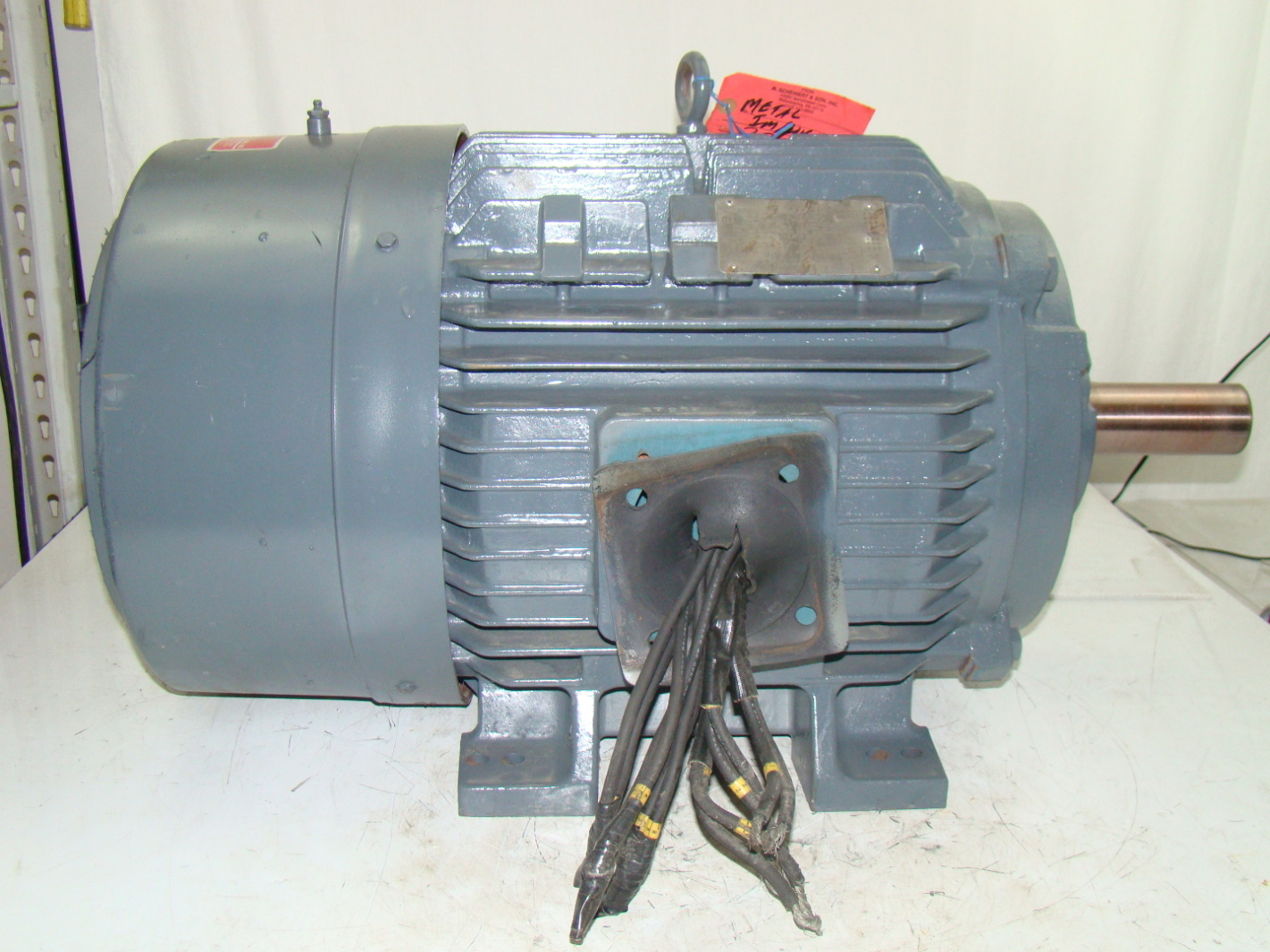 Siemens 60hp Electric Motor 1775 Rpm 230 460v Rgzp Ebay