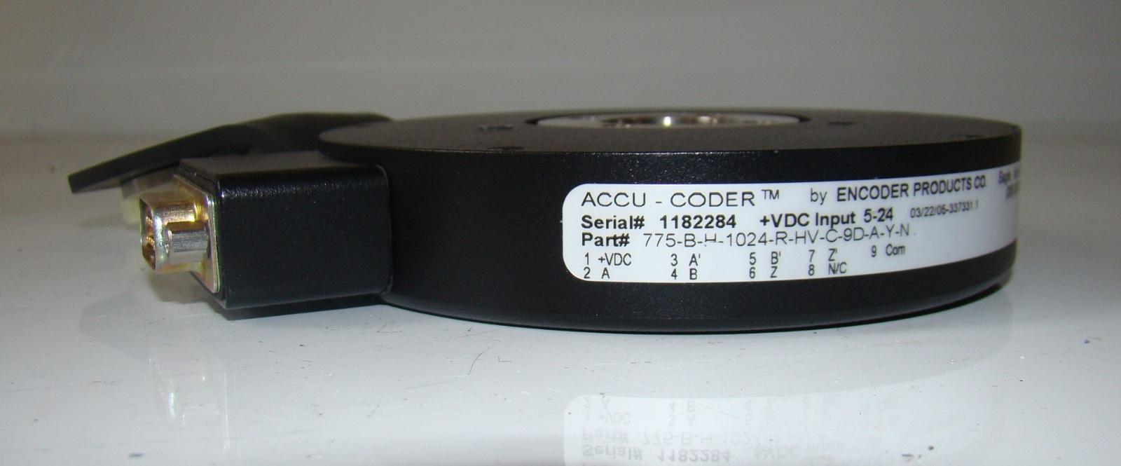 ䷹�c��#����/)9d#_Accu-Coder,EncoderProducts,775-B-H-1024-R-HV-C-9D-A-Y-N|eBay