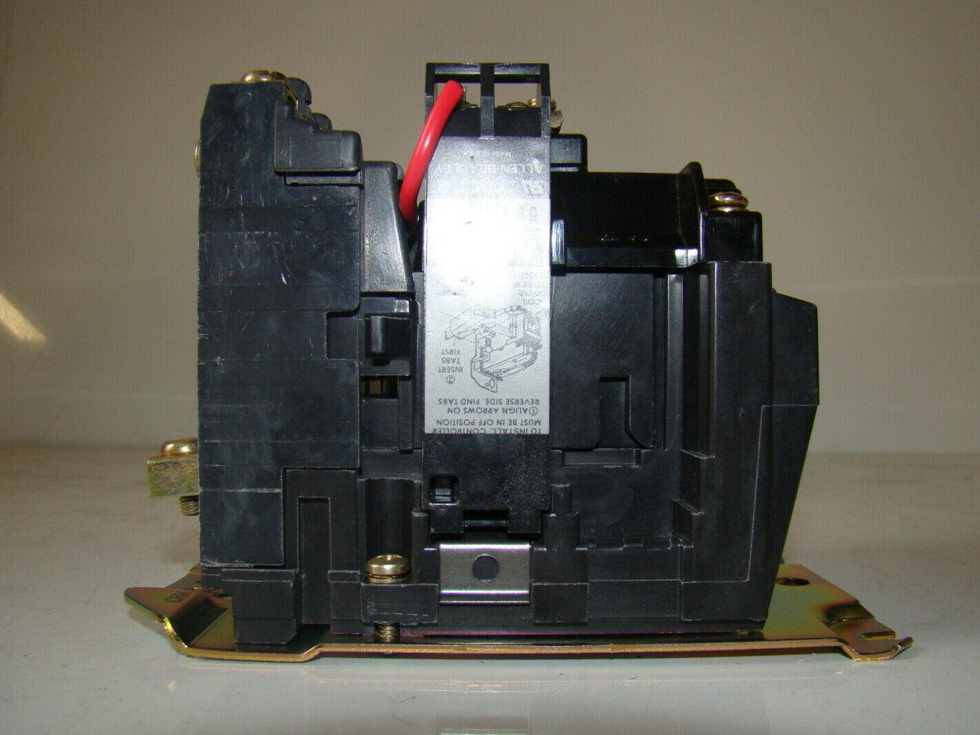allen bradley motor contactor 120v 595 a joseph fazzio