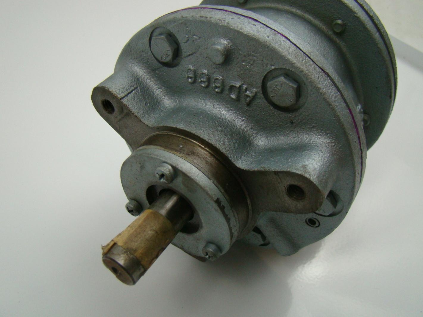 Gast 4 Hp Lubricated Air Motor 6am Nrv 7a Ebay