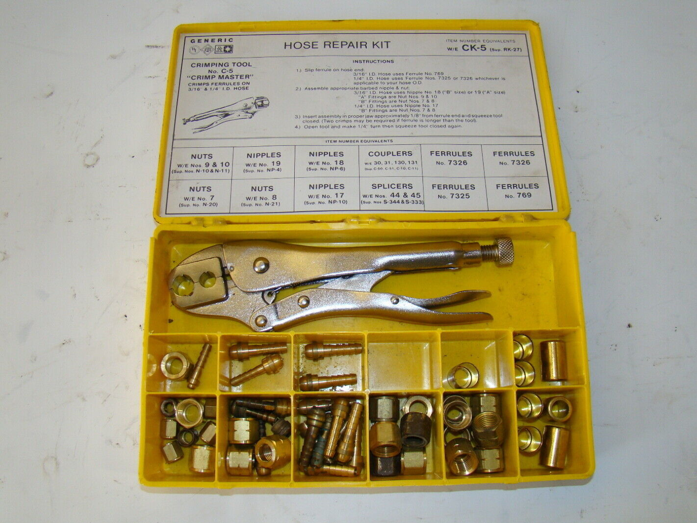 Generic Hose Repair Kit CK-5 | Joseph Fazzio, Incorporated