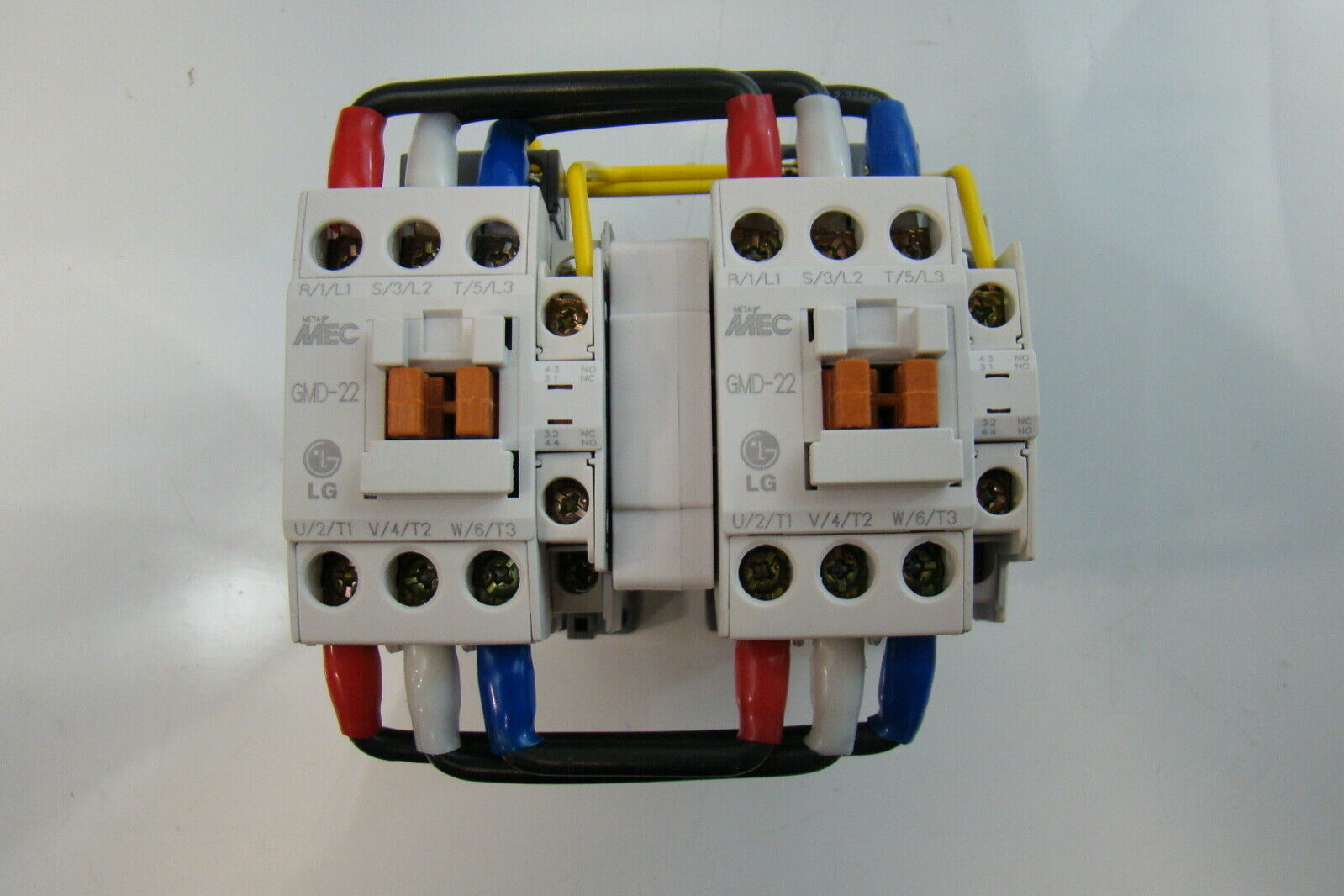Details about LG Meta Mec 240V Contactor GMD 22R #19346C