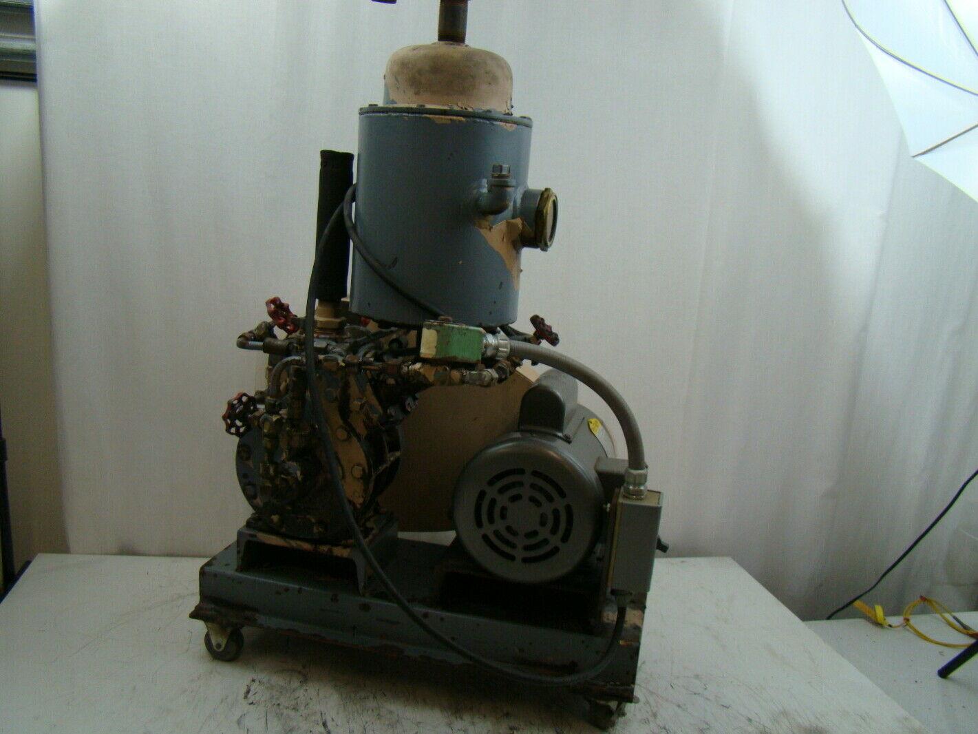 Kinney Belt Drive Vacuum Pump Ks13 Ebay