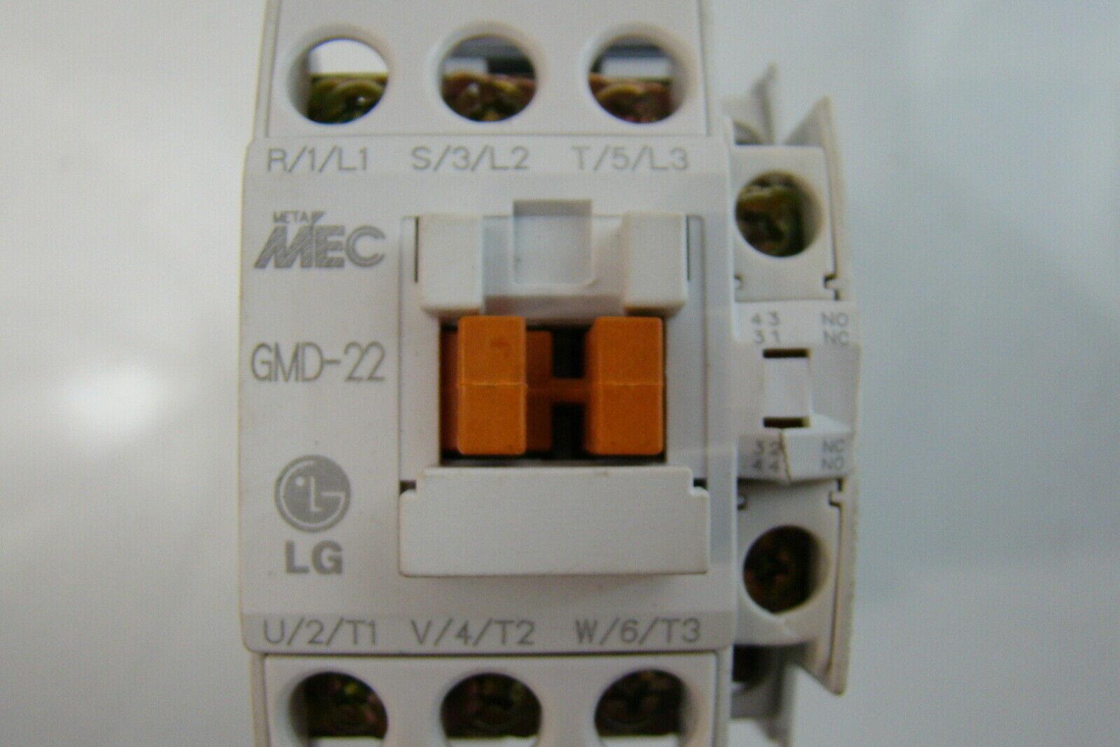 LG Meta MEC 240V Contactor GMC 22 eBay #803E0F