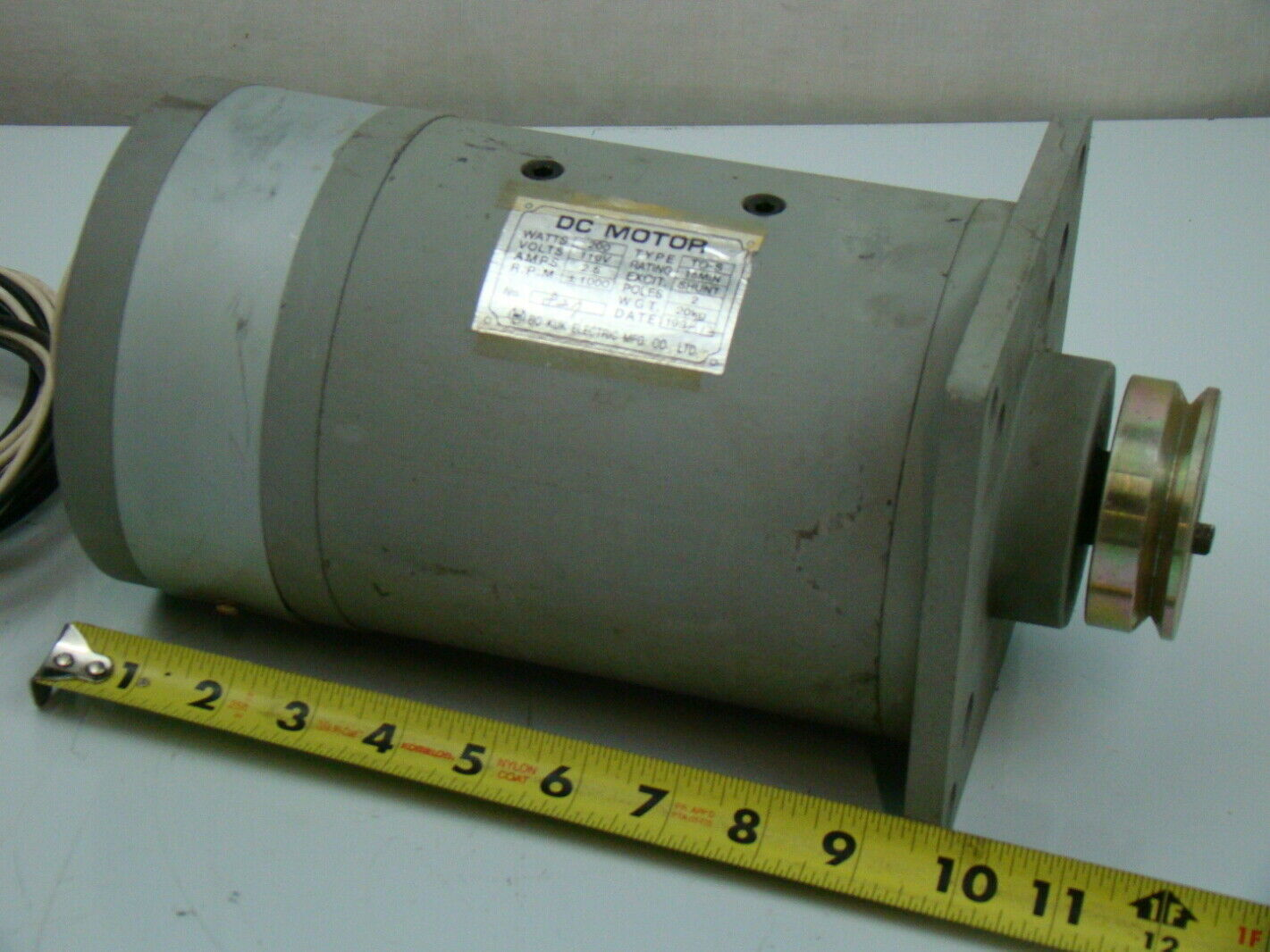 bo kuk electric 200 watt 110v dc motor to s ebay