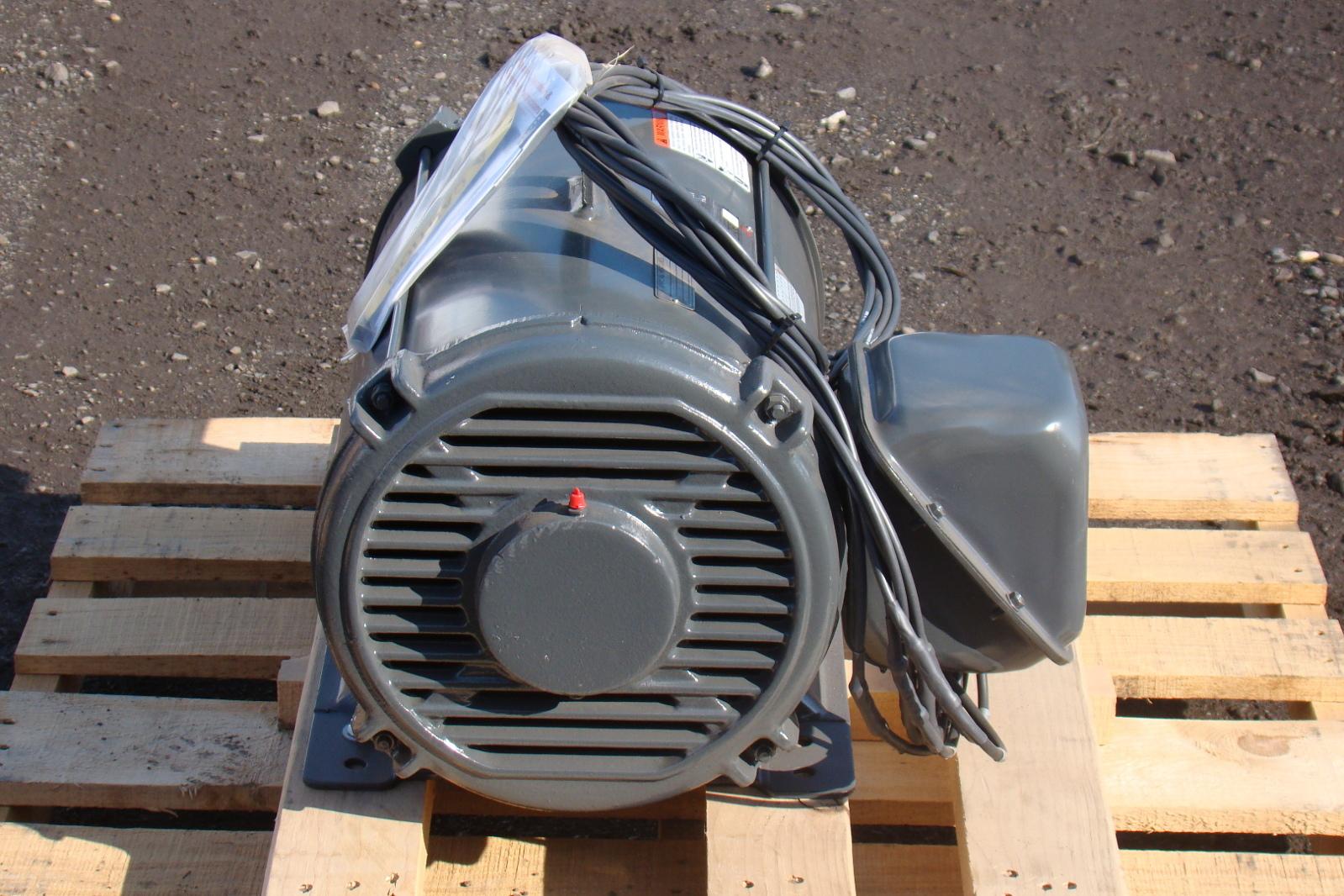 Us Motors 40 Hp Dry Hydraulic Elevator Motor 200v 3