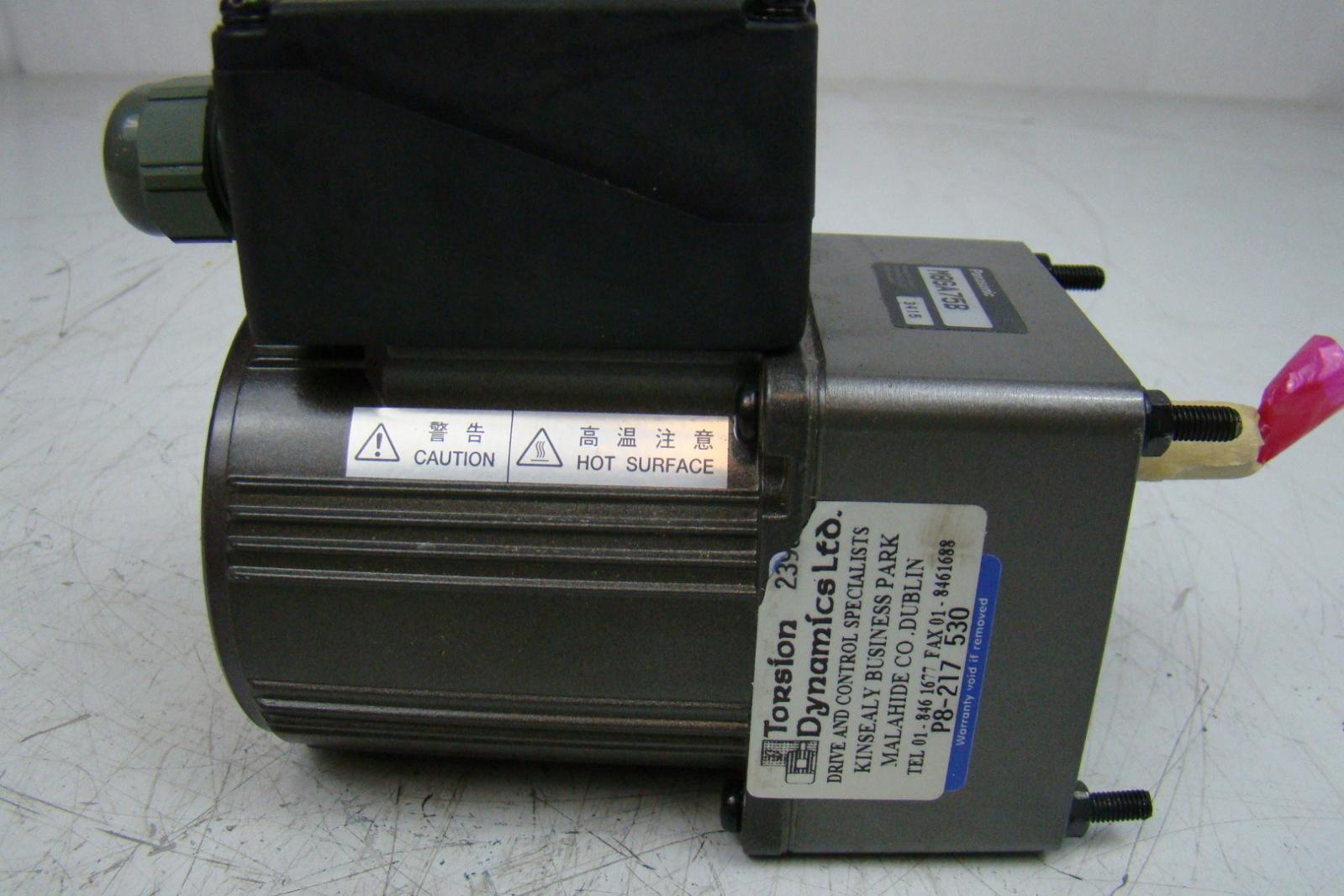 Panasonic Motor Gearbox M8ga75b Ebay