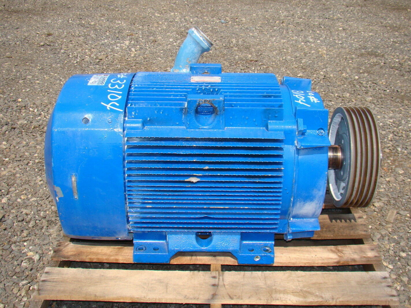 200 Hp Pancake Electric Motor