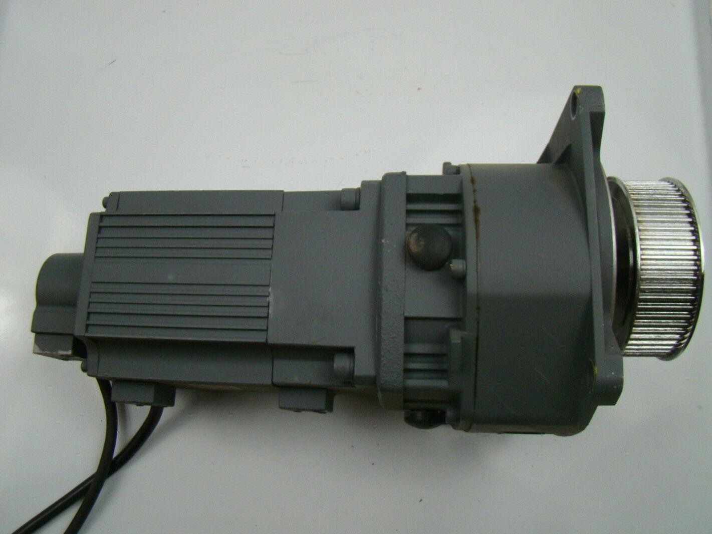 Mitsubishi Ac Servo Motor 3000 Rpm 126v Ha Ff43bg1