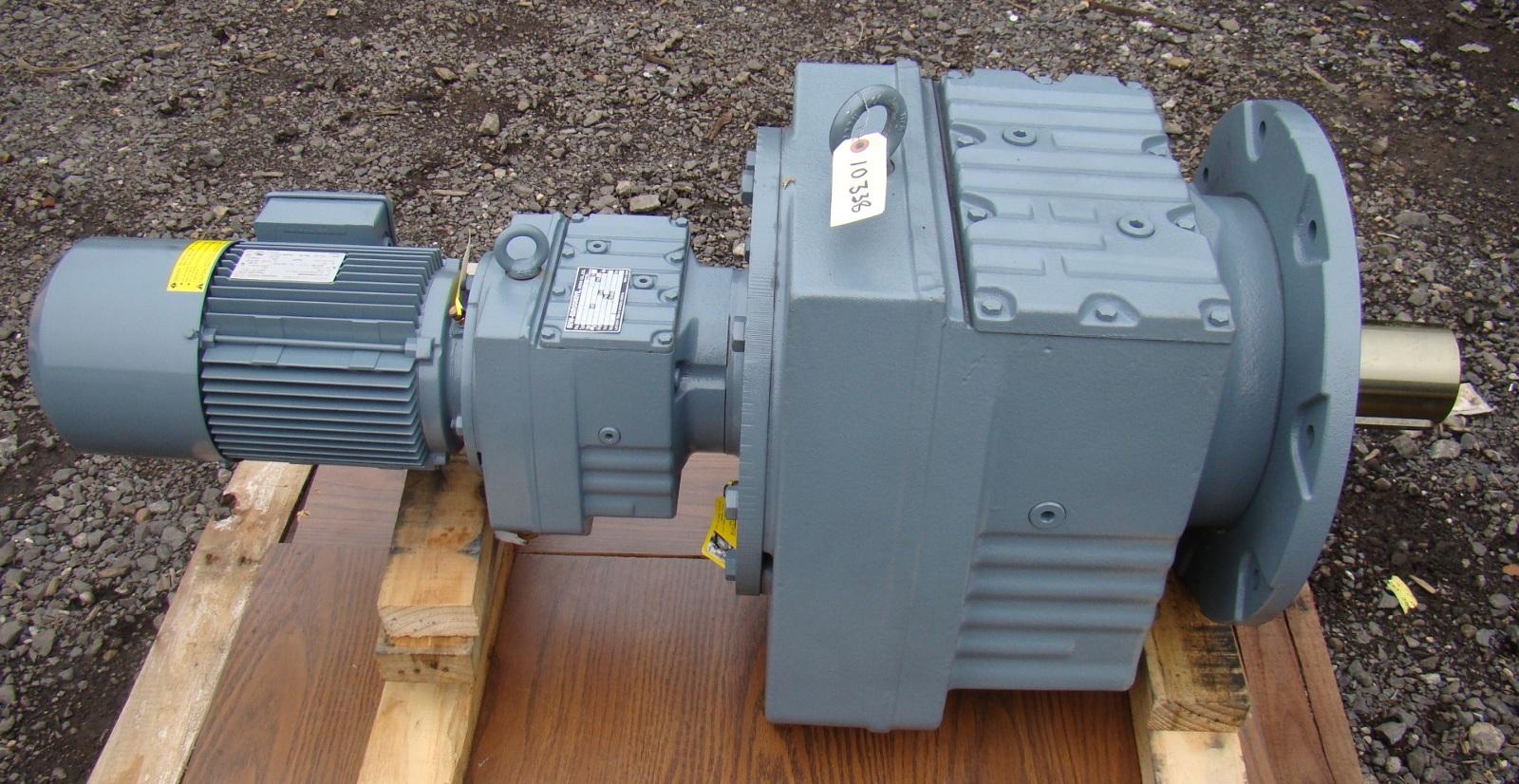 Sew Eurodrive 490 1 Gear Motor 2 2kw 240 480v Rf137 R77