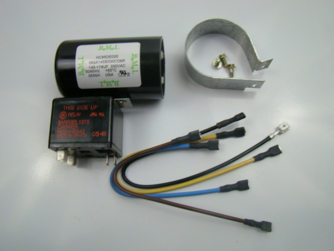 how to install a start capacitor kit - 28 images
