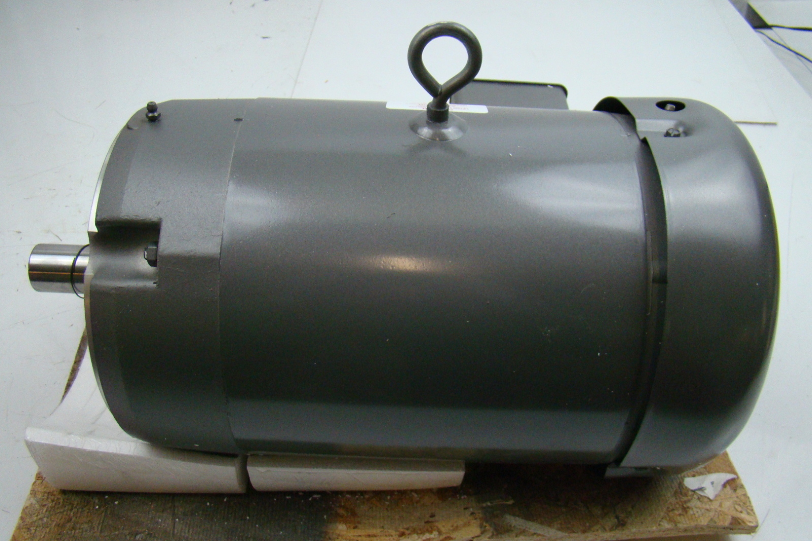 Baldor reliance 7 5hp electric motor 230 460v vm3710t ebay for Baldor industrial motor parts