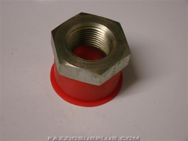 Parker hydraulic fitting pipe adapter