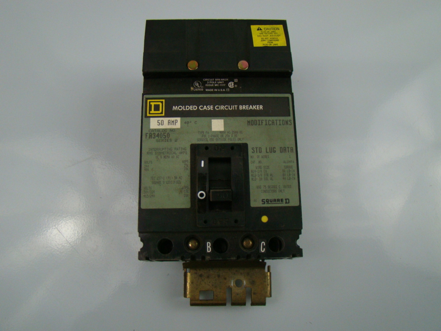 Square D Circuit Breaker Gfci 50a 120 240 Vac Pricefallscom