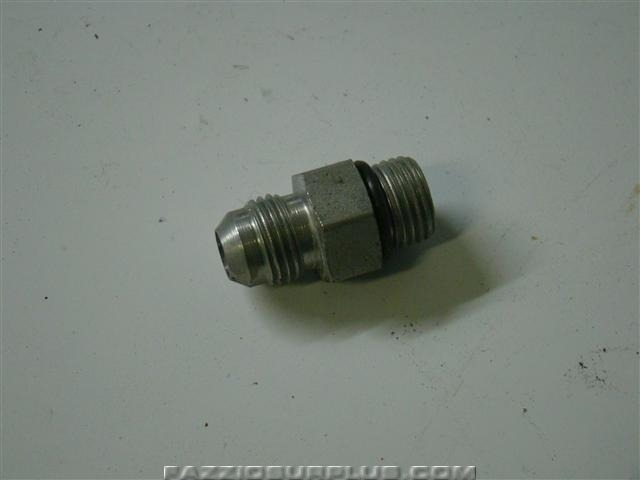 Parker hydraulic fitting deg flare adapter ebay