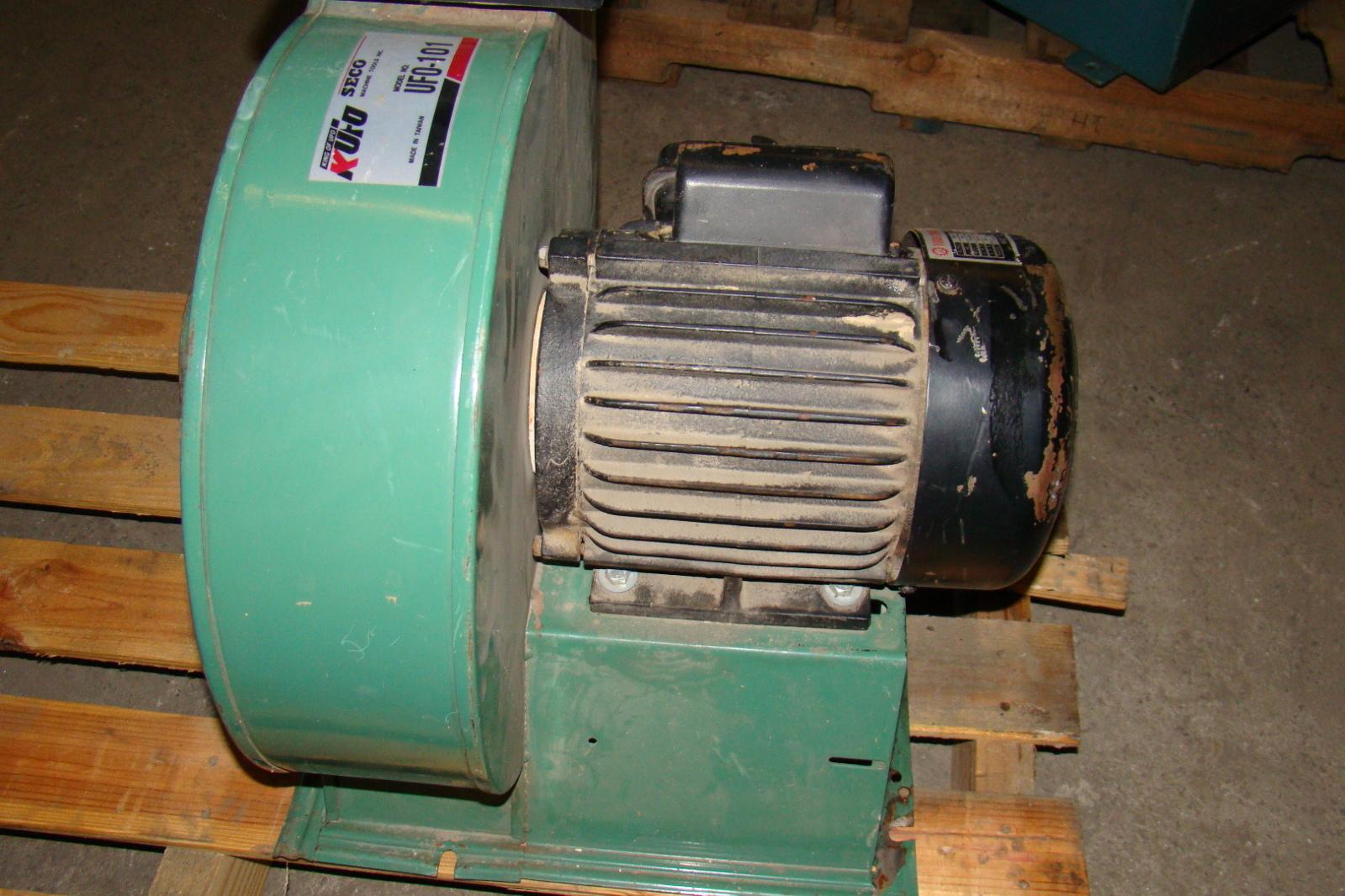 KUFO Blower 1224 CFM Youba 2HP Motor 110v/220v UF0 101 #3D8E74