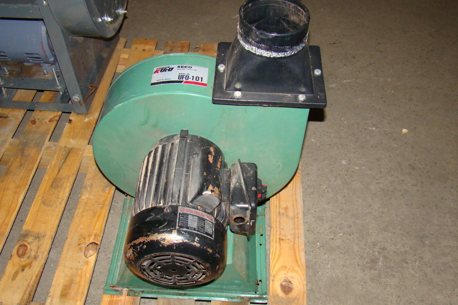 KUFO Blower 1224 CFM Youba 2HP Motor 110v/220v UF0 101 #AA6F21