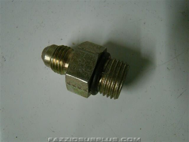 Parker hydraulic fitting deg flare adapter
