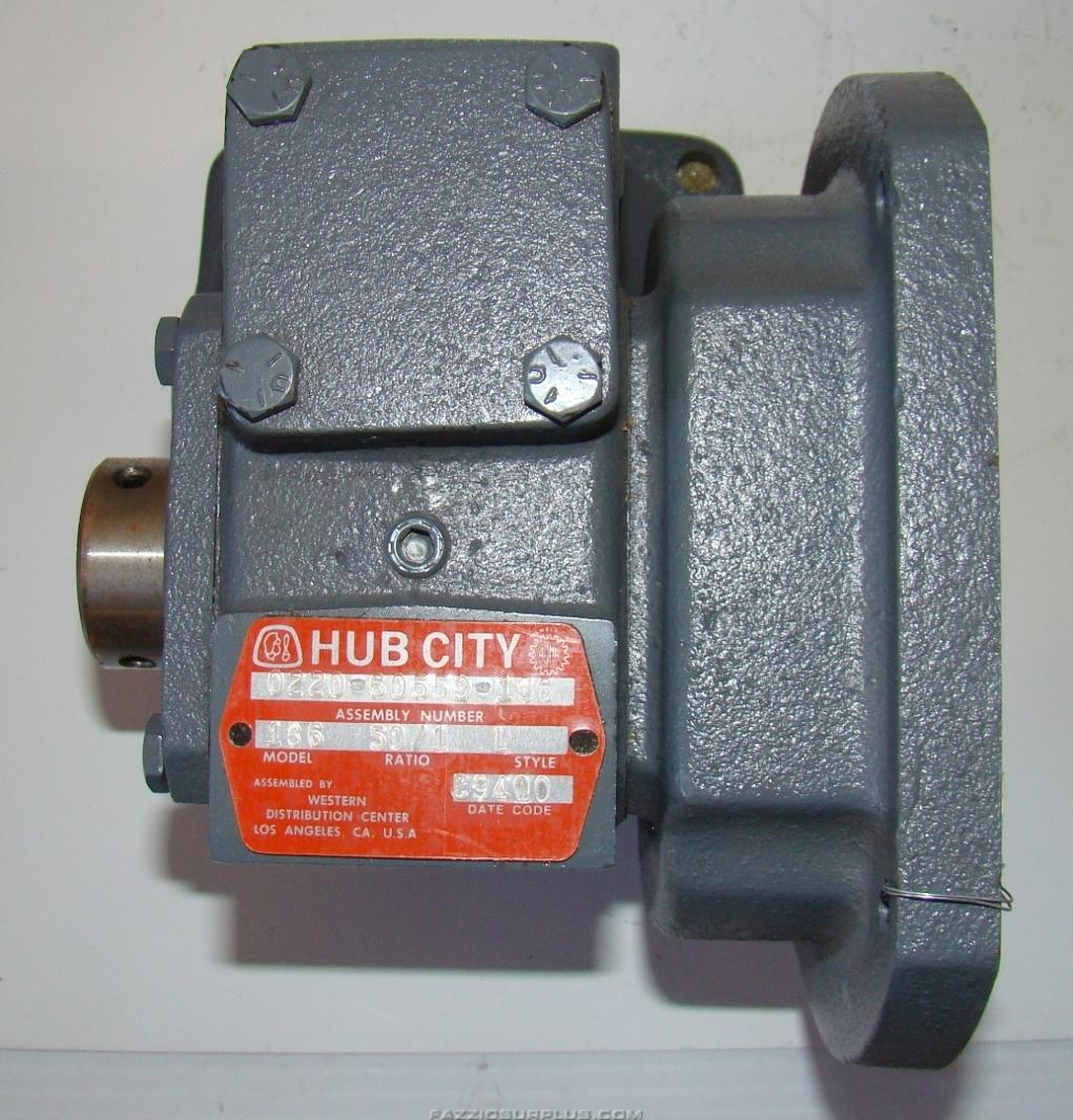 Hub City Gearbox 50 1 0220 60559 186 Joseph Fazzio
