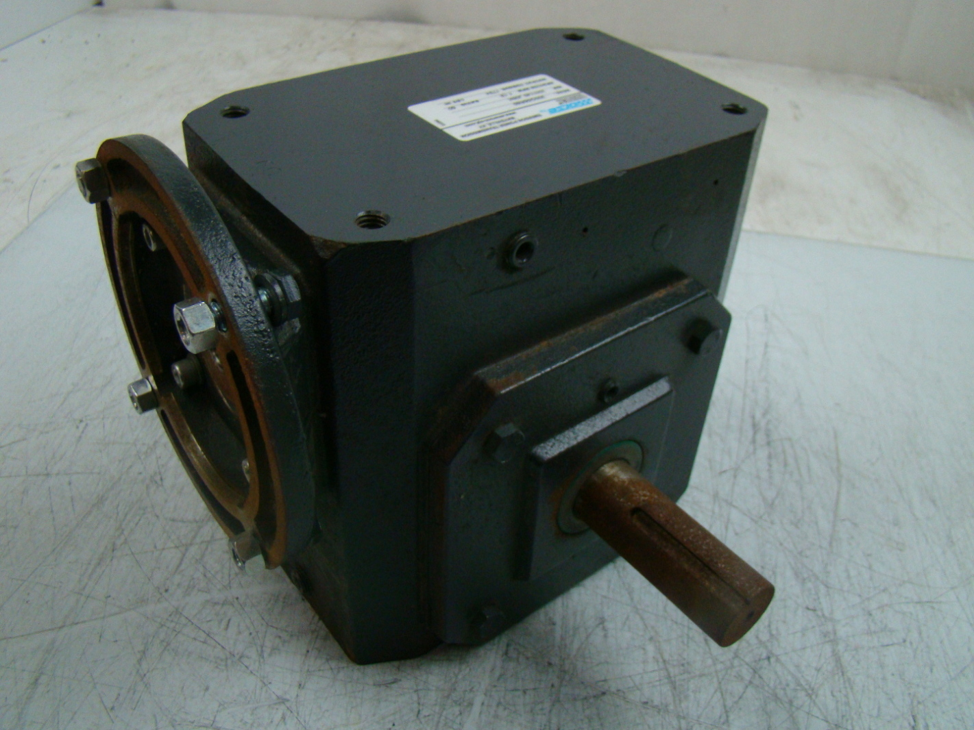 Morse Raider 1750rpm Ratio Motor Gear Reducer