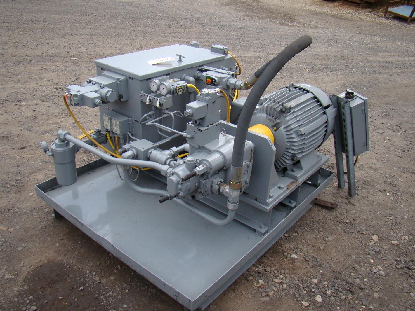 American Hydrostatics 40hp 460v Hydraulic Power Unit Ah