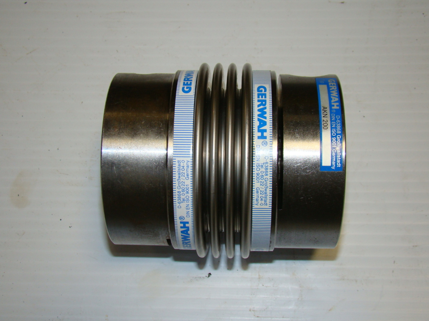 Gerwah metal bellow coupling akn series quot x new