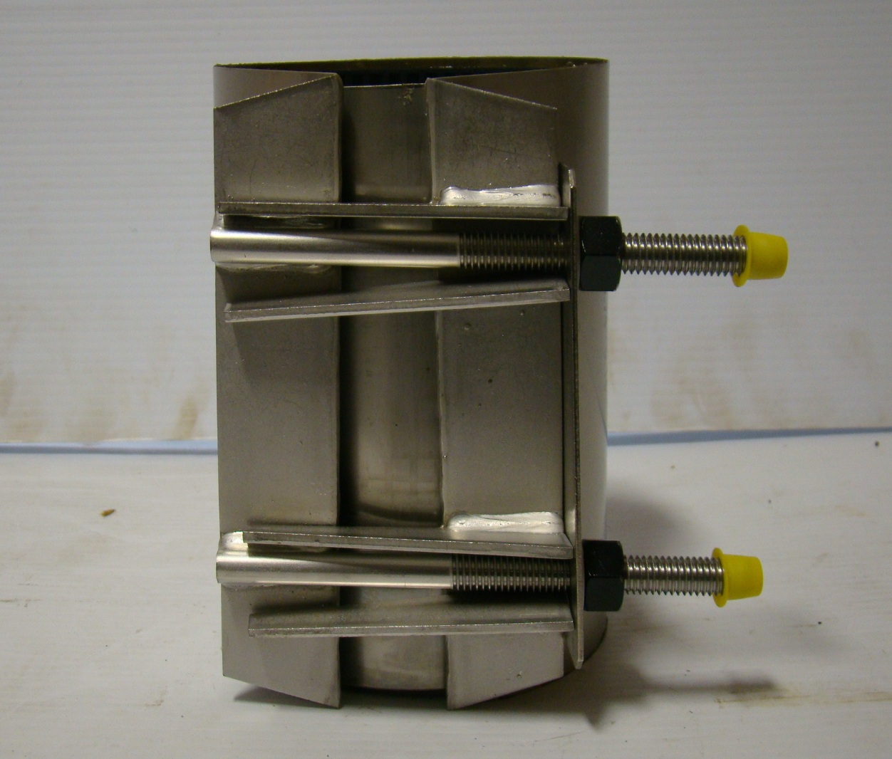 Romac ss pipe repair clamp ebay