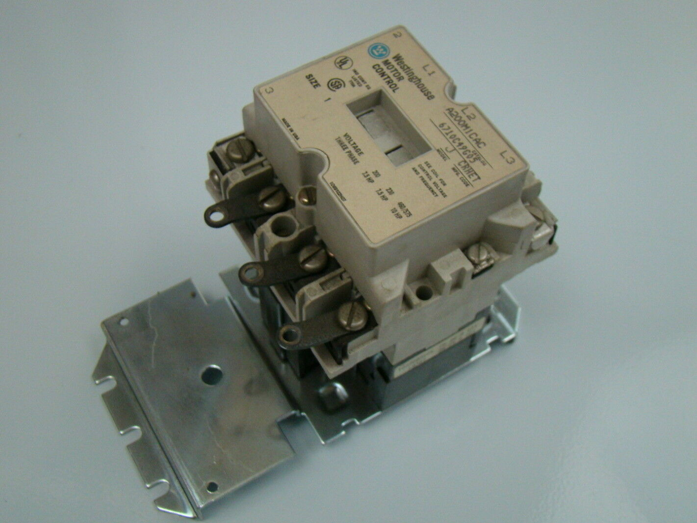 Westinghouse electric motor control pictures to pin on for Westinghouse ac motor 1 3 hp