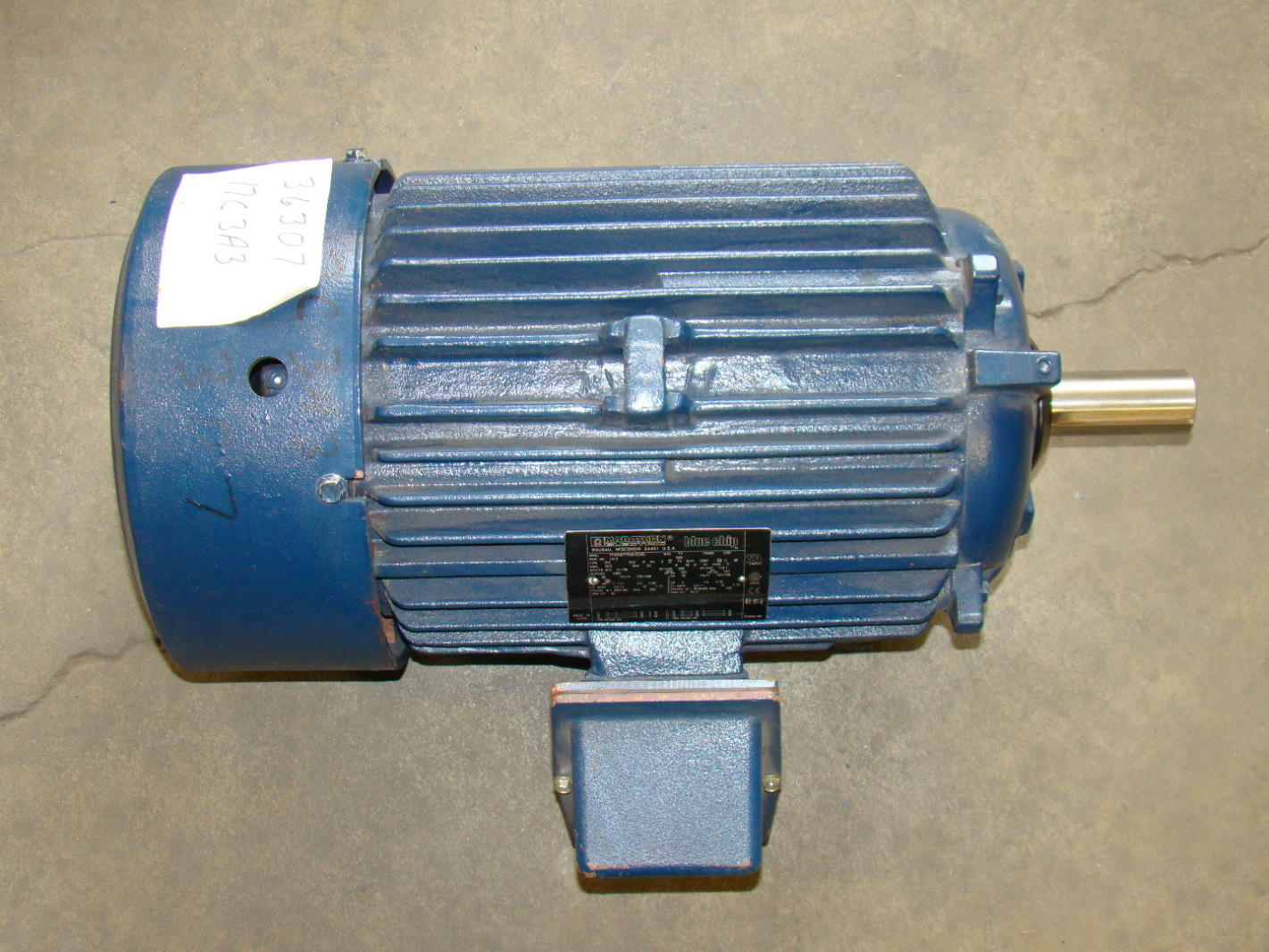 Electric Motor: Marathon Electric Motor