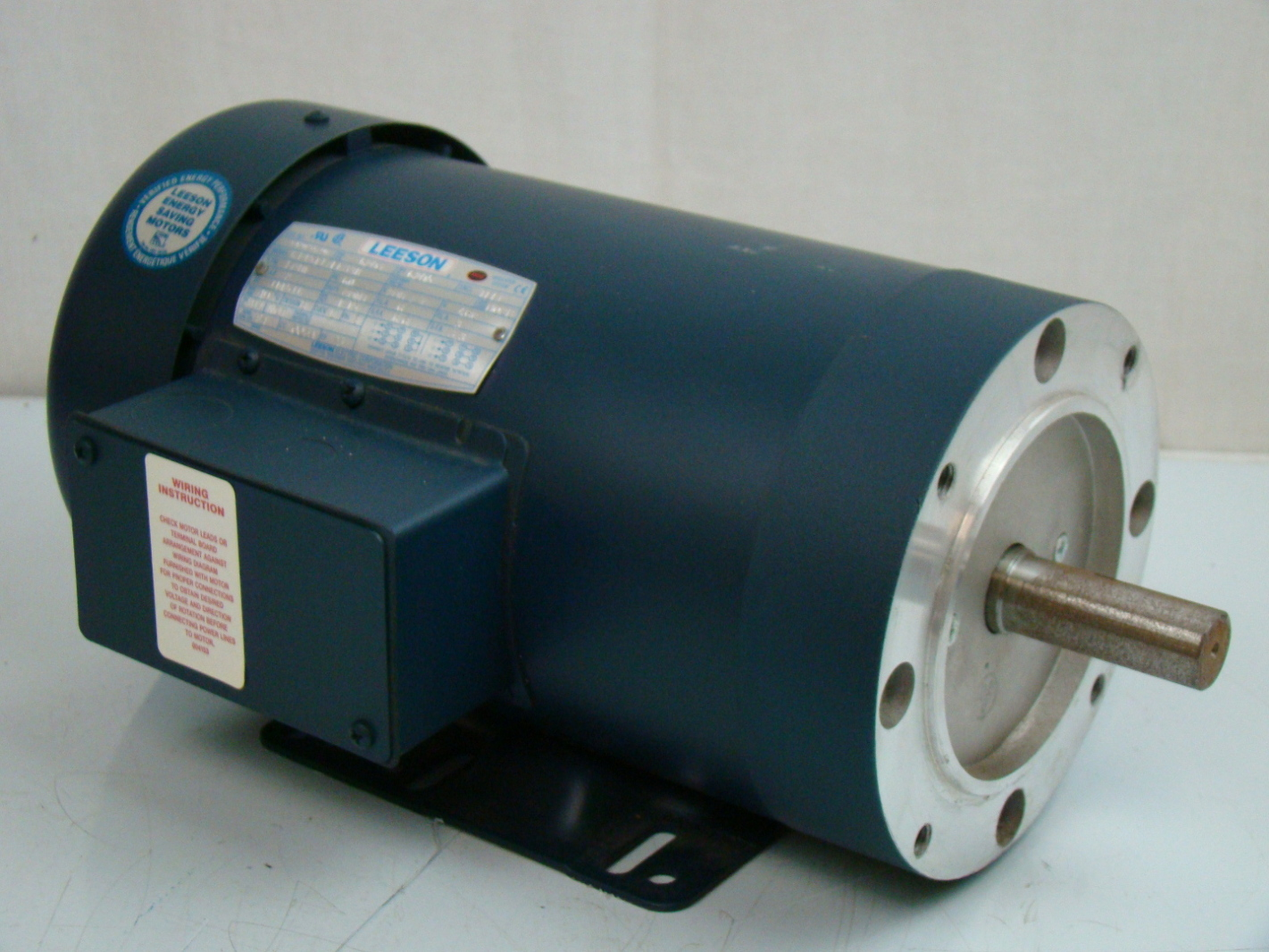 leeson 2 hp 1740 rpm electric motor