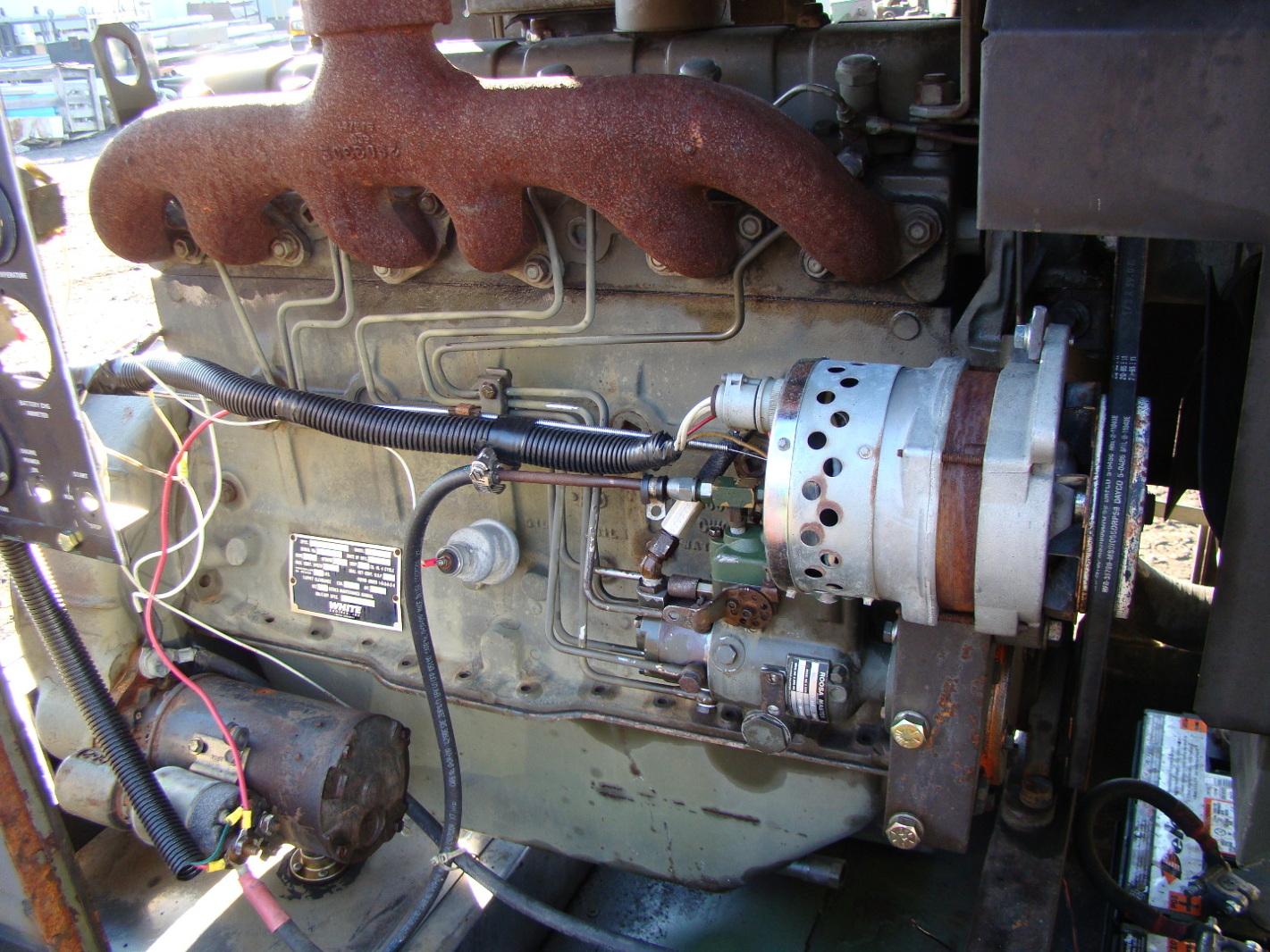 Hercules White Engines 63 Hp 6 Cyl Diesel Power Unit