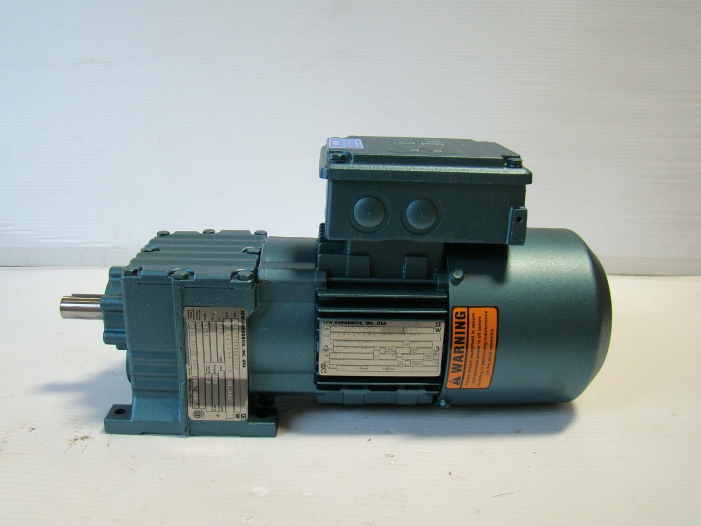 Sew eurodrive 1 2hp 73rpm motor gearbox ebay for Sew eurodrive gear motor