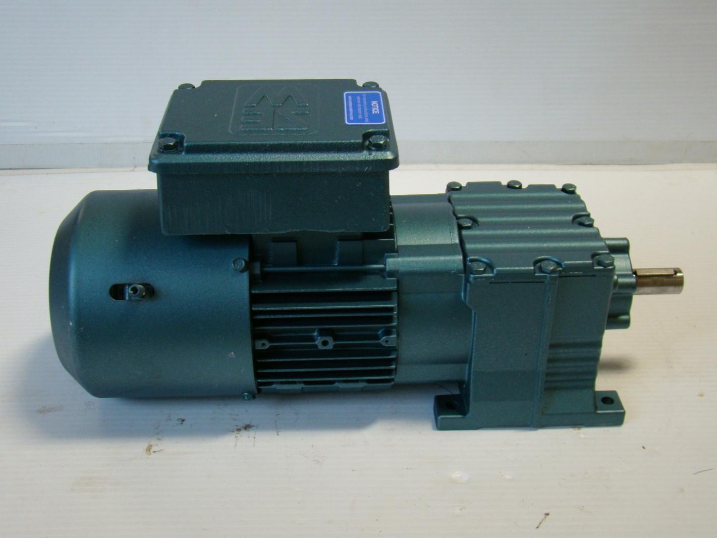 sew eurodrive 1 2hp 73rpm motor gearbox ebay