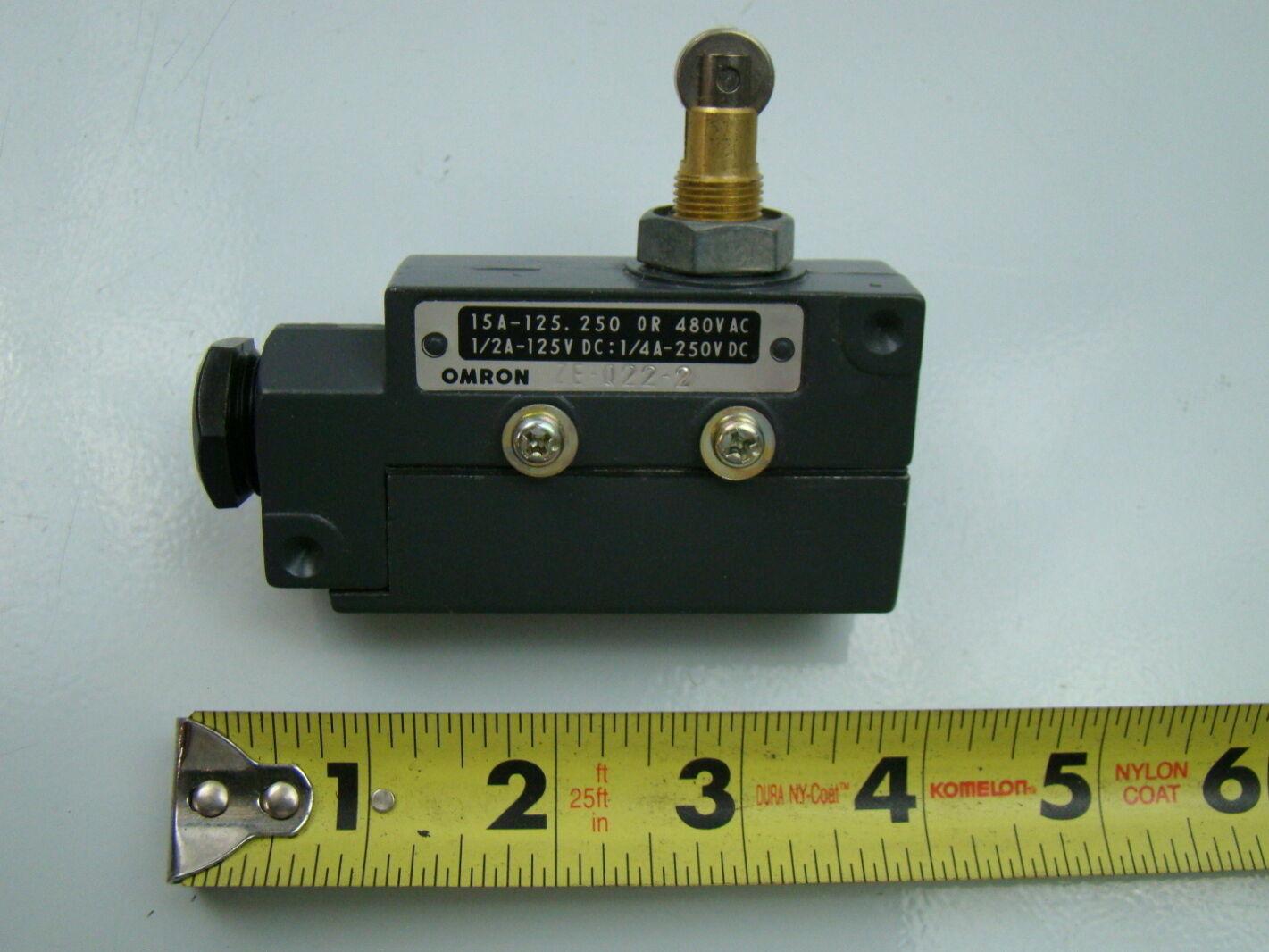 omron 125v limit switch ze q22 2 ebay