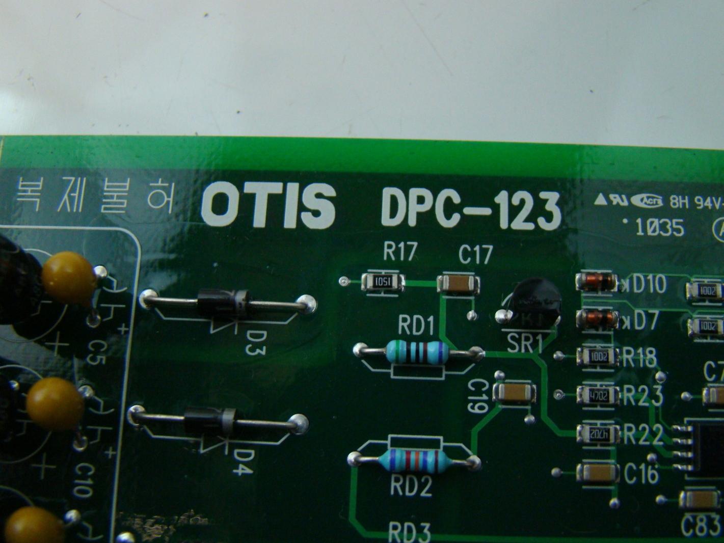 Details about LG Otis Elevator PC Board DPC 123 AEG14C637 #106D32