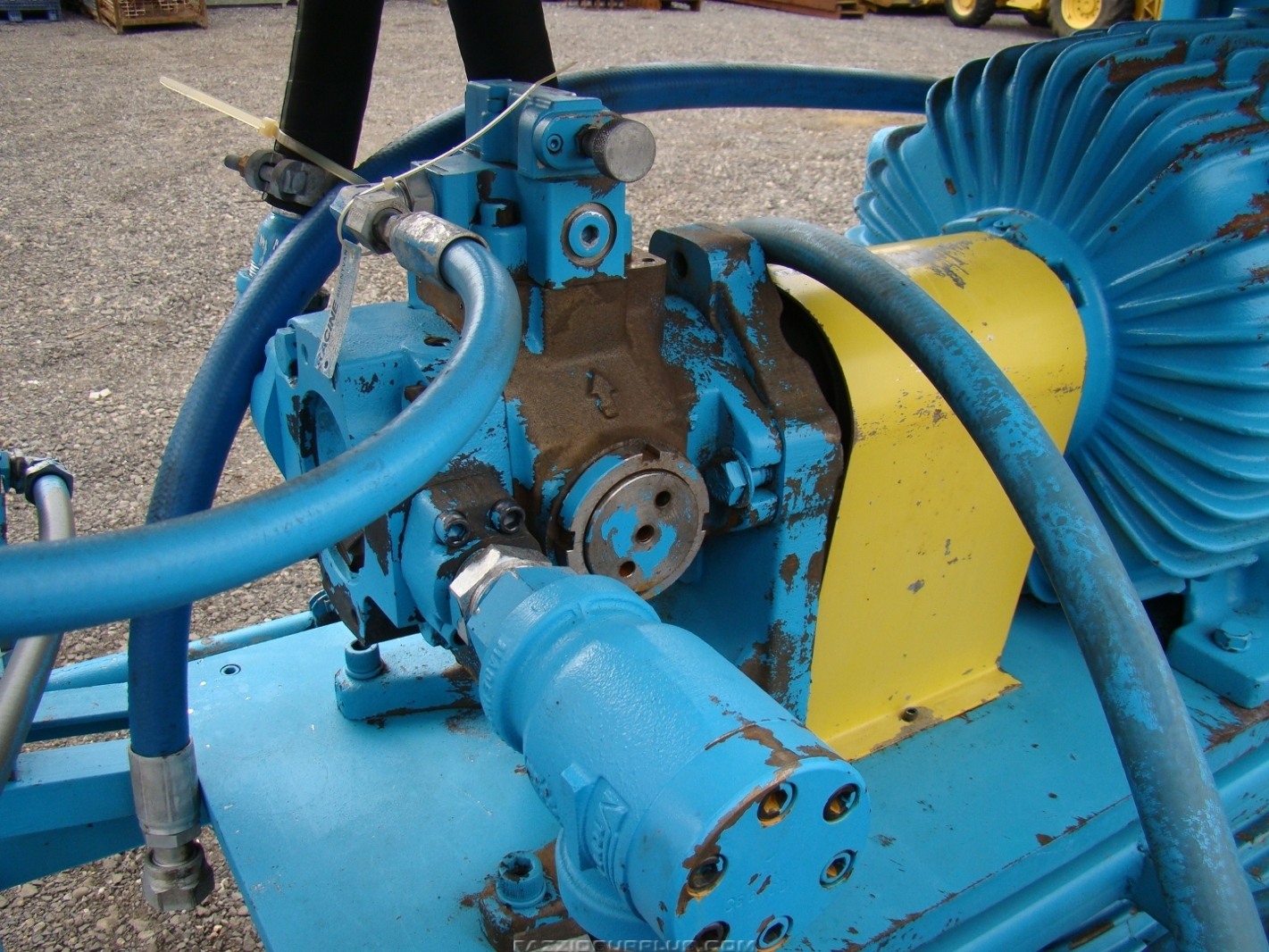 Delco Gm Twin 25 Hp Racine Hydraulic Pumps Amp Heated Tank