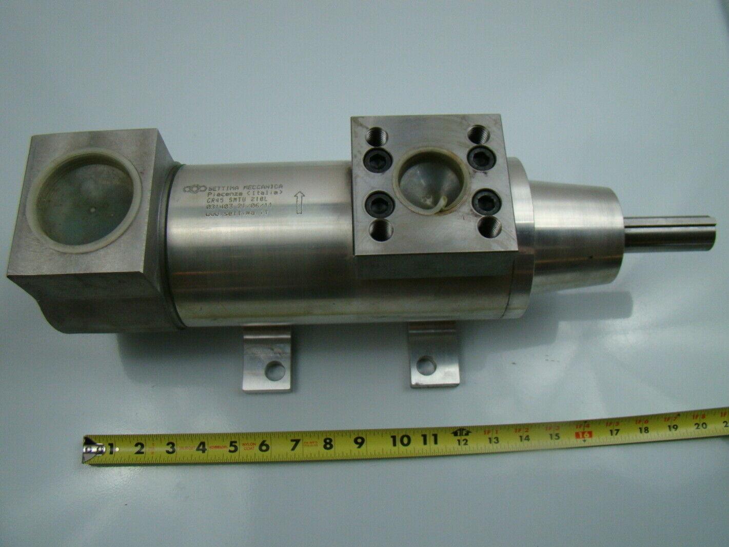 Settima Meccanica Elevator Hydraulic Screw Pump GR 45 SMTU 210L