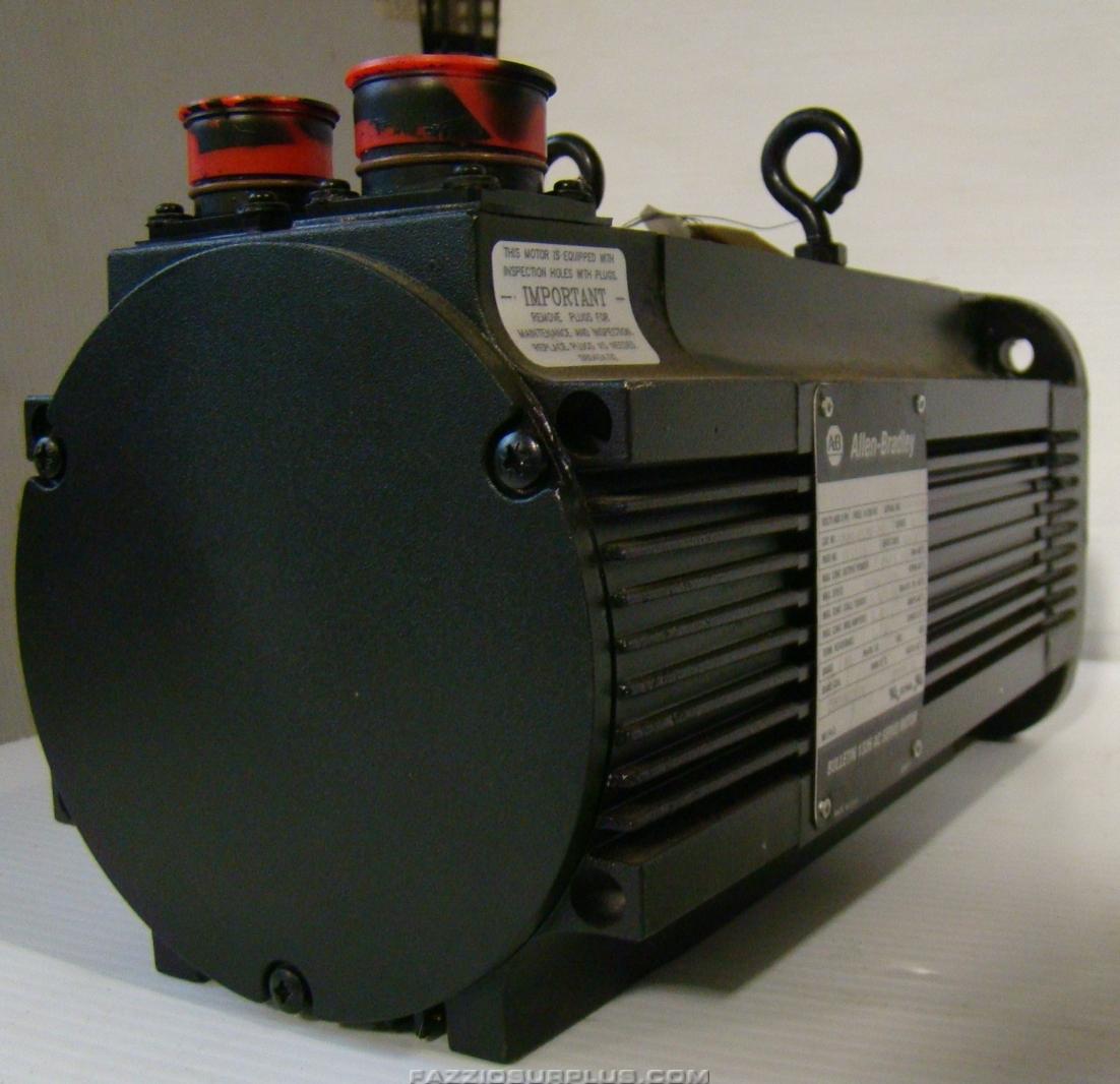 Allen Bradley Brushless Ac Servo Motor 460vac 1326ab B520f 21