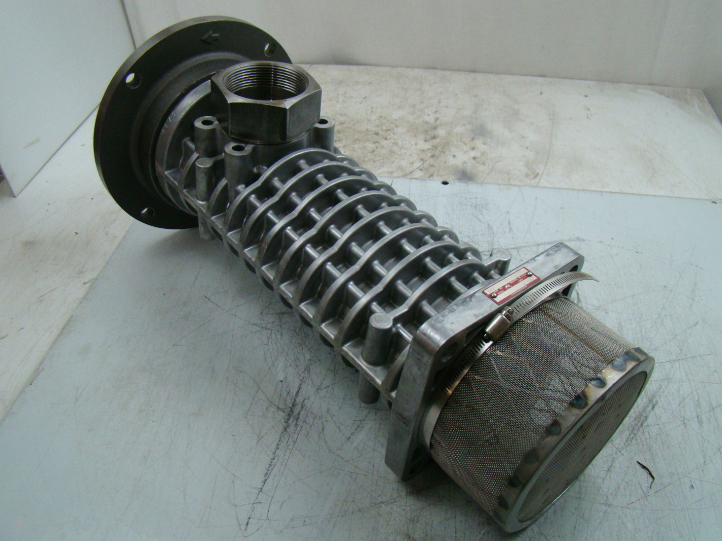 Imo 4pic series submersible hydraulic 3 screw pump c4pic for Submersible hydraulic pump motor