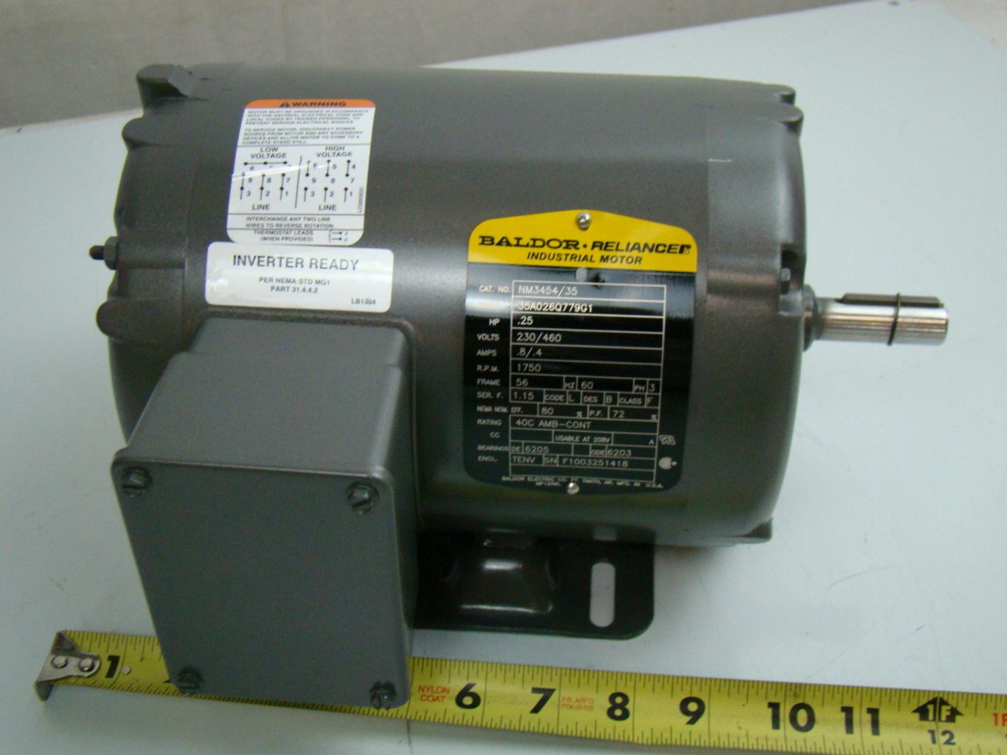 Inverter Ready Motor