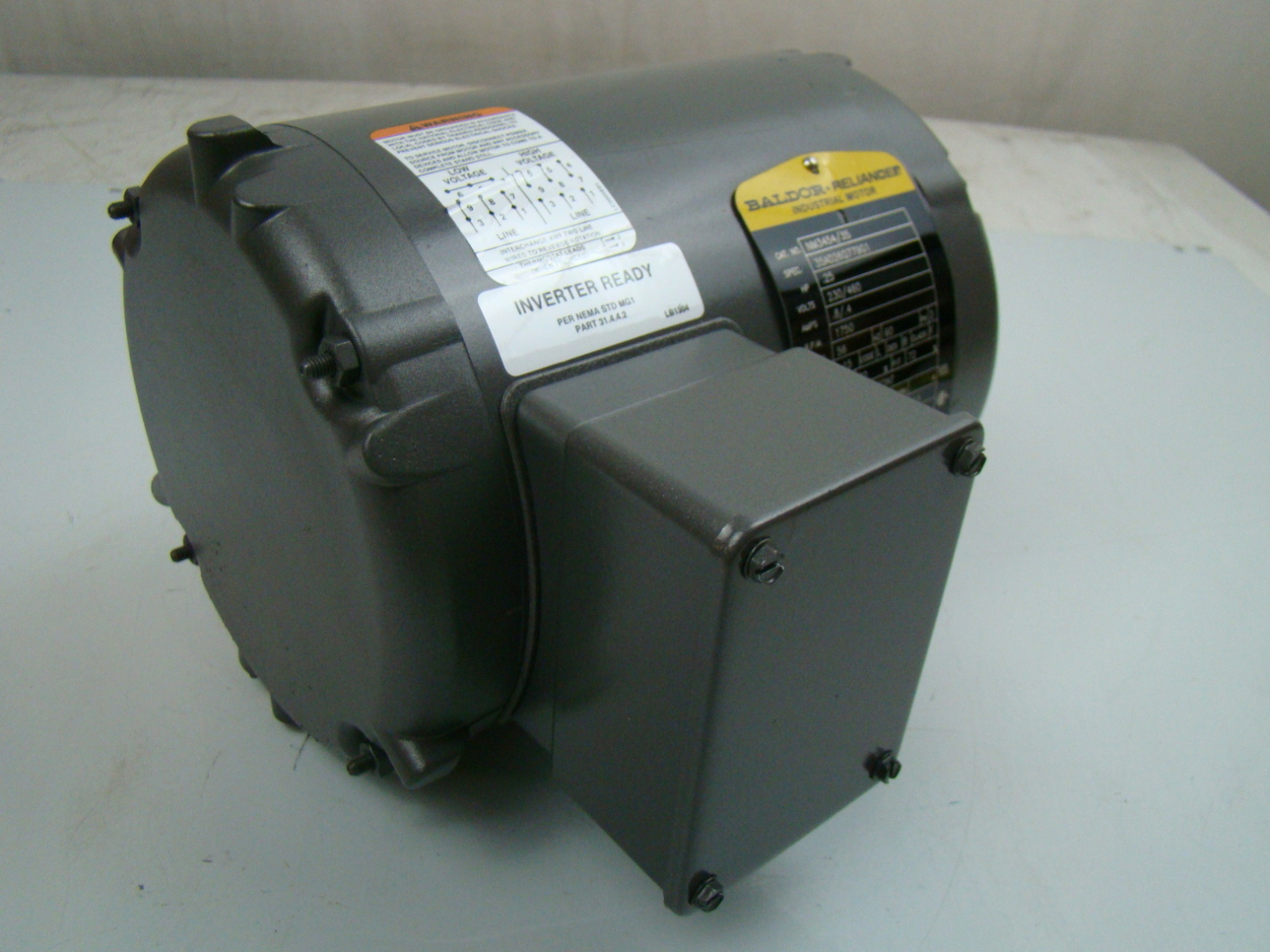 baldor 25 hp 1750 rpm electric motor nm3454 35 ebay On 35 hp electric motor