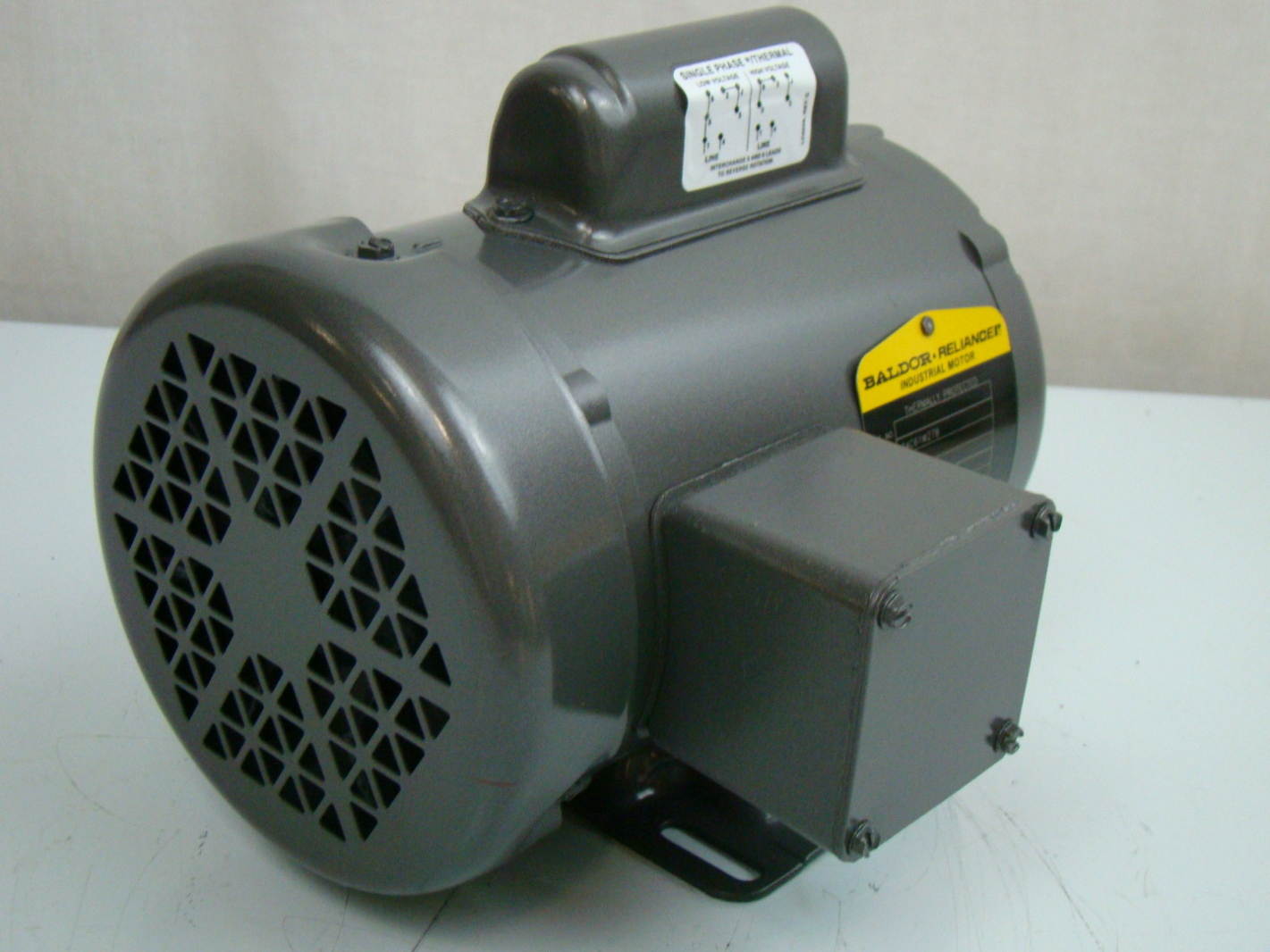 Baldor 1 3 hp 1425 rpm electric motor 34a63 3653 ebay for Dc motor 1 3 hp
